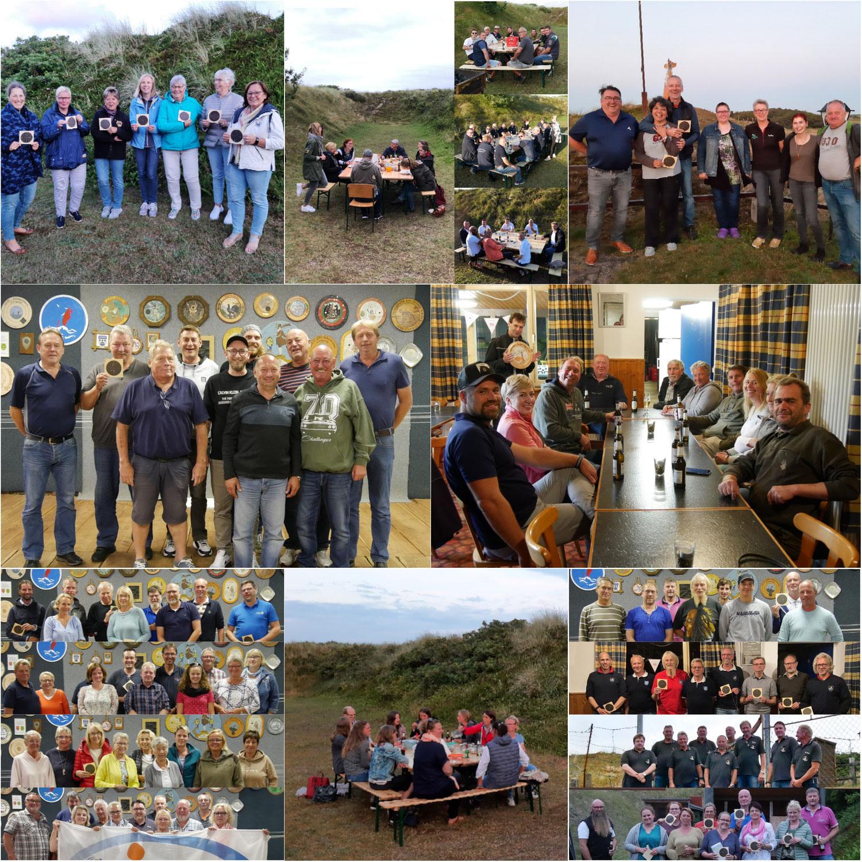 Fotos Königsschießen der Langeooger Gruppen und Vereine 2021