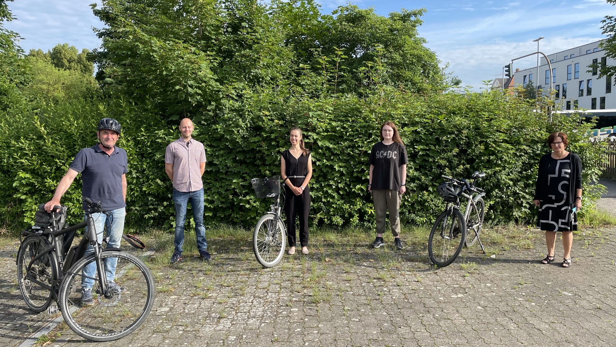 Graf-Stauffenberg-Realschule nimmt an Stadtradel-Aktion teil