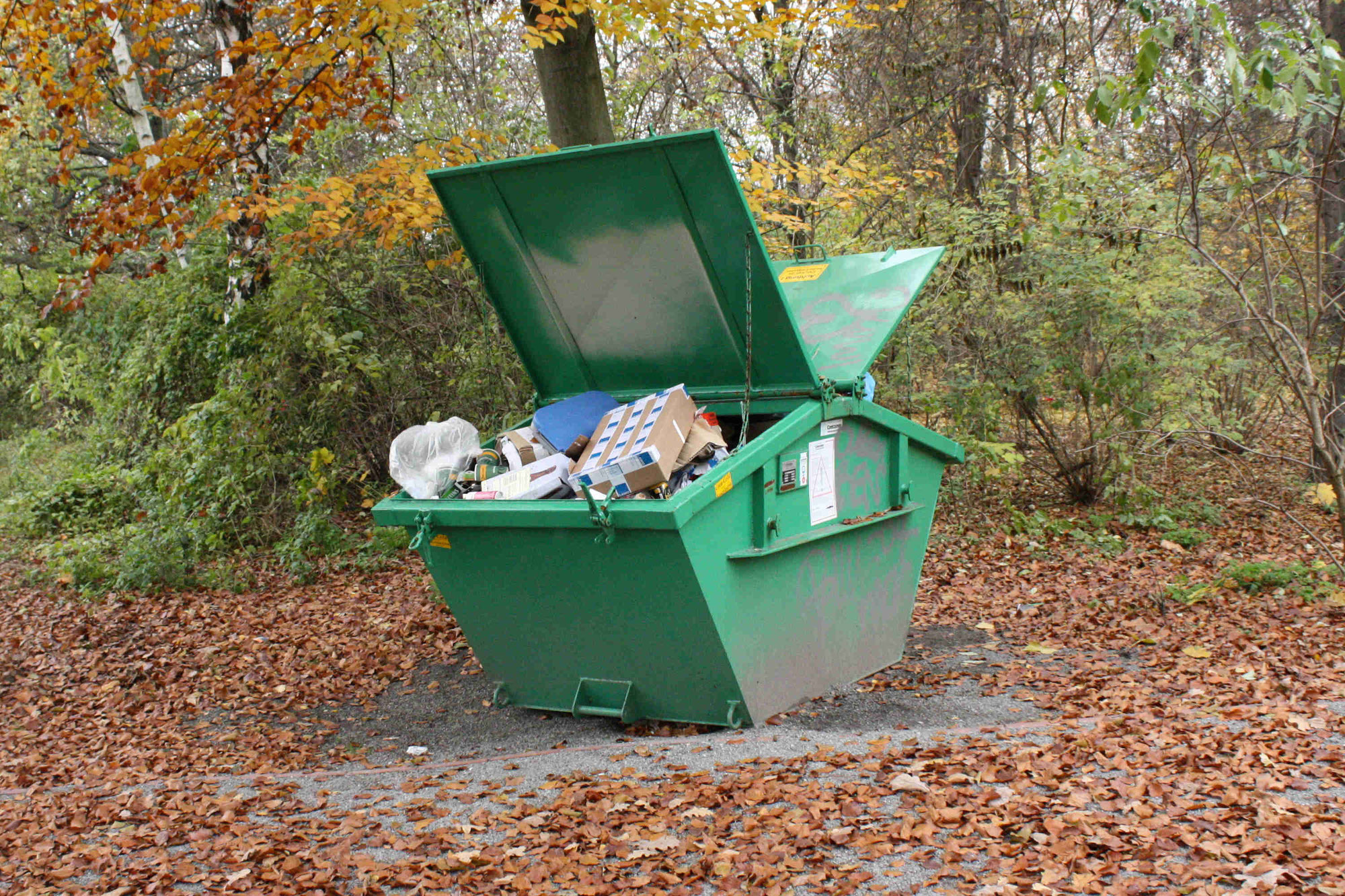 Bunter Montag: Der Umgang mit Abfall