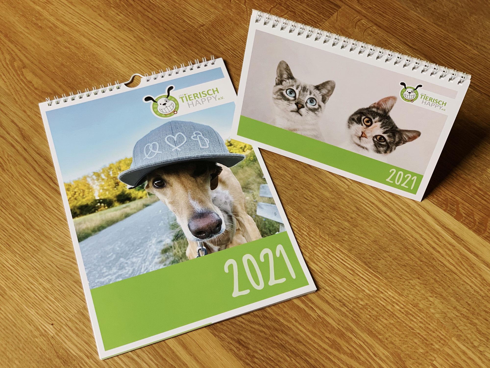Unsere Tierisch Happy Kalender 2021 im Verkauf
