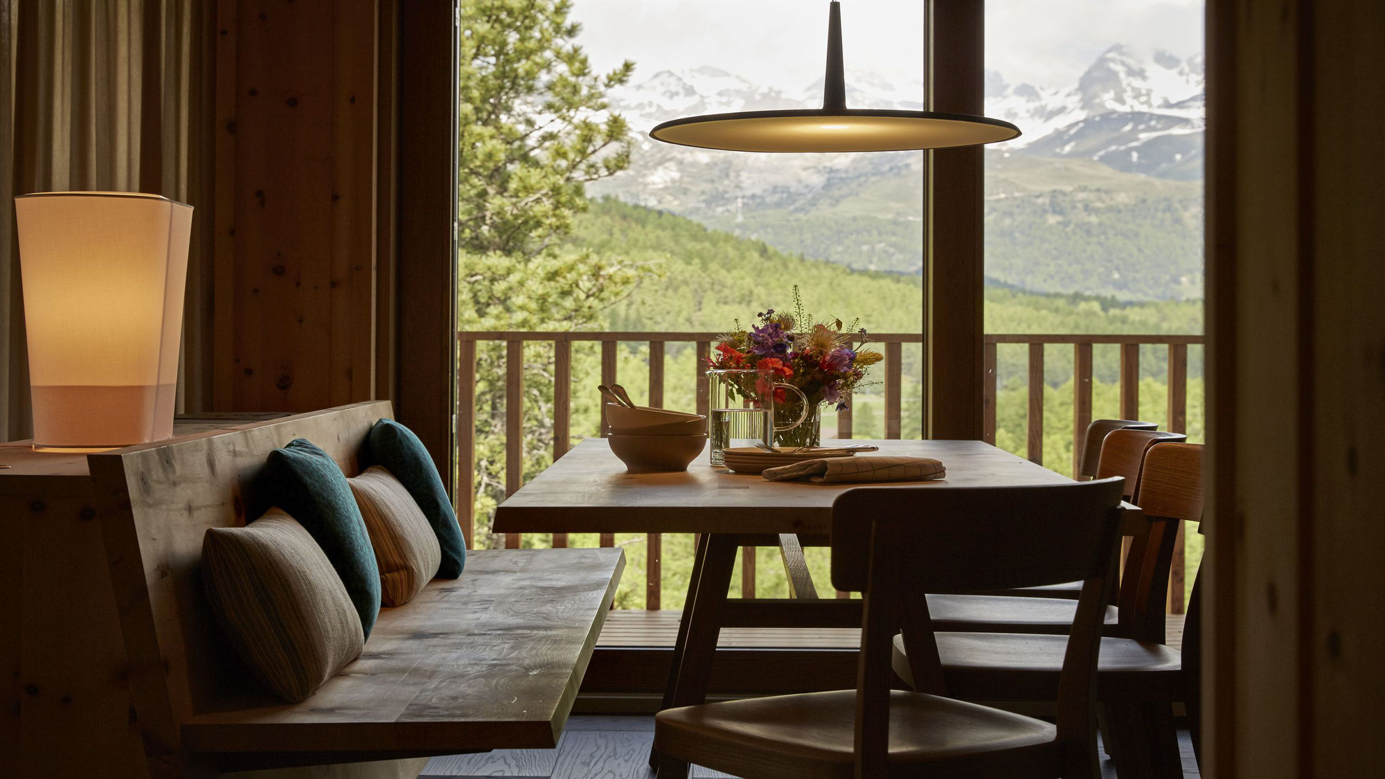 Alpine Lodging in the Swiss Engiadina Valley