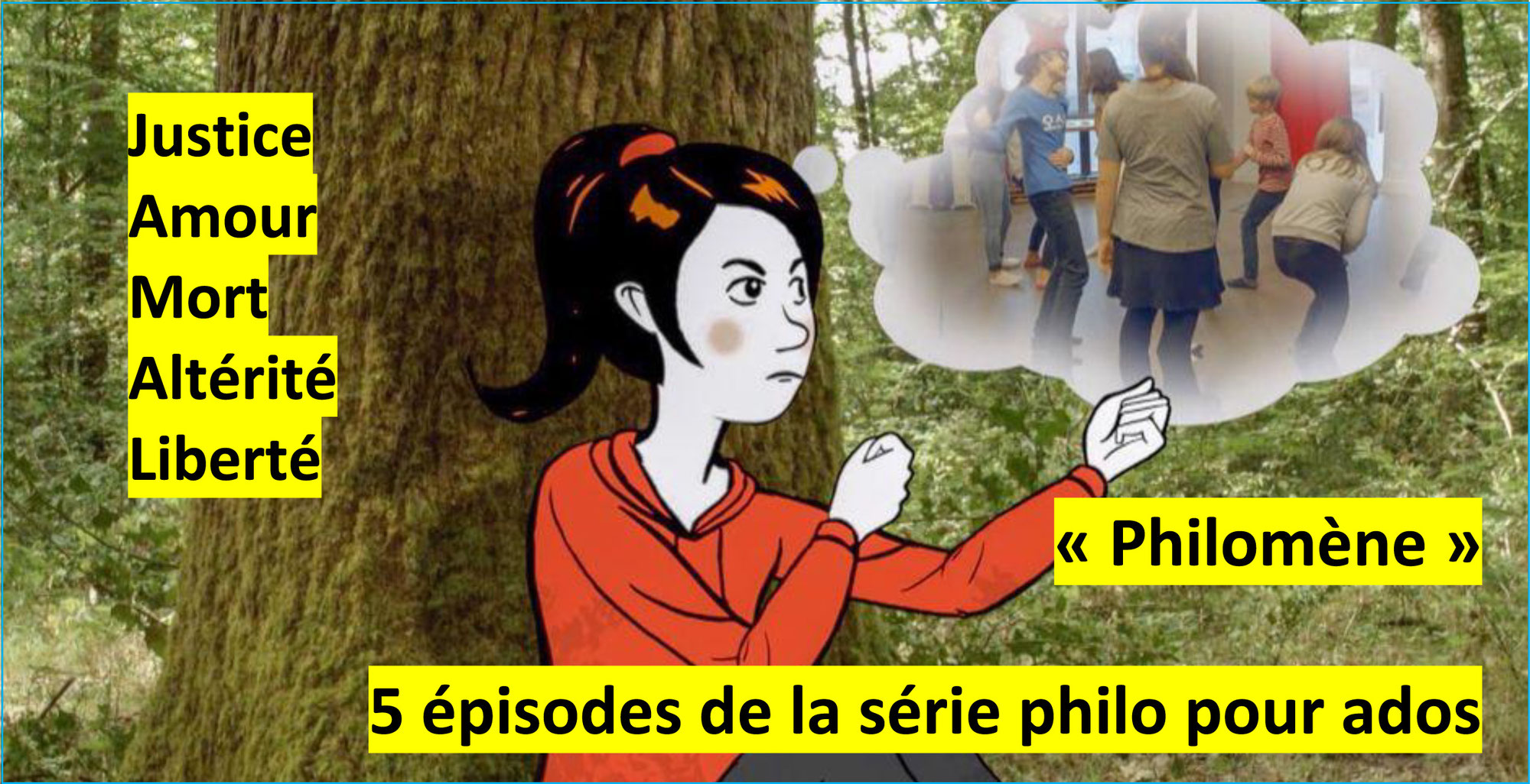 """PHILOMENE """"TOUS PHILOSOPHES"""": la série d'ARTE pour réfléchir avec les ados"""