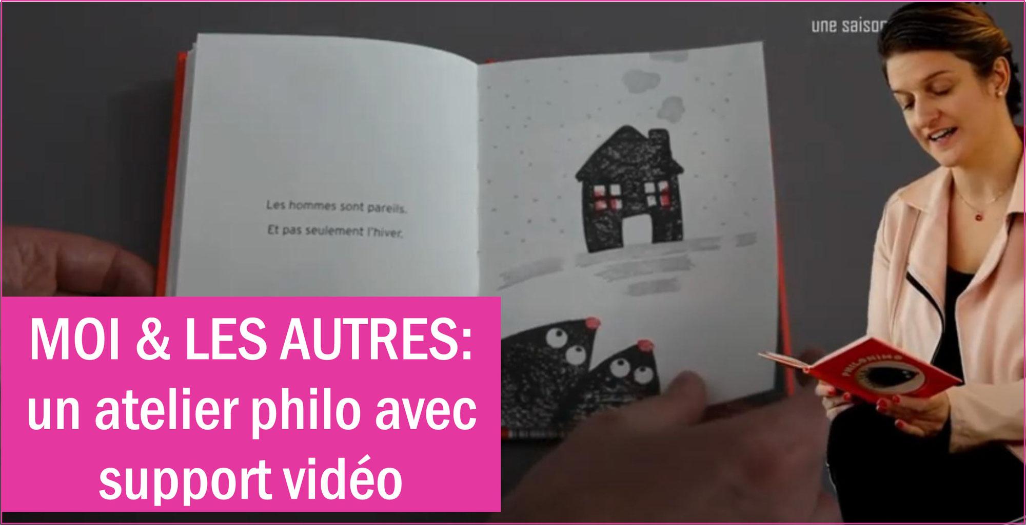 """""""C'EST QUI, LES AUTRES?"""" Un atelier philo guidé par un tuto vidéo avec Charlie RENARD (Philo Marmots)"""