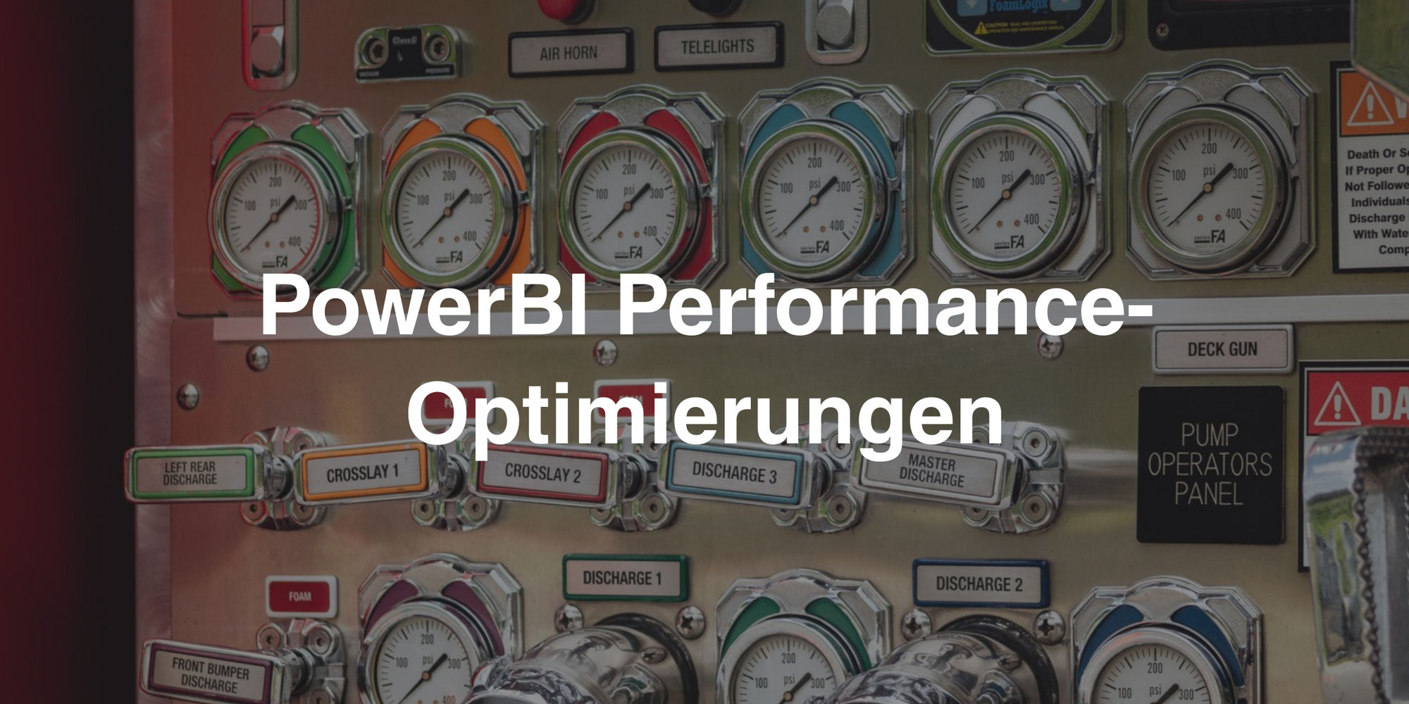 PowerBI Performance-Optimierungen