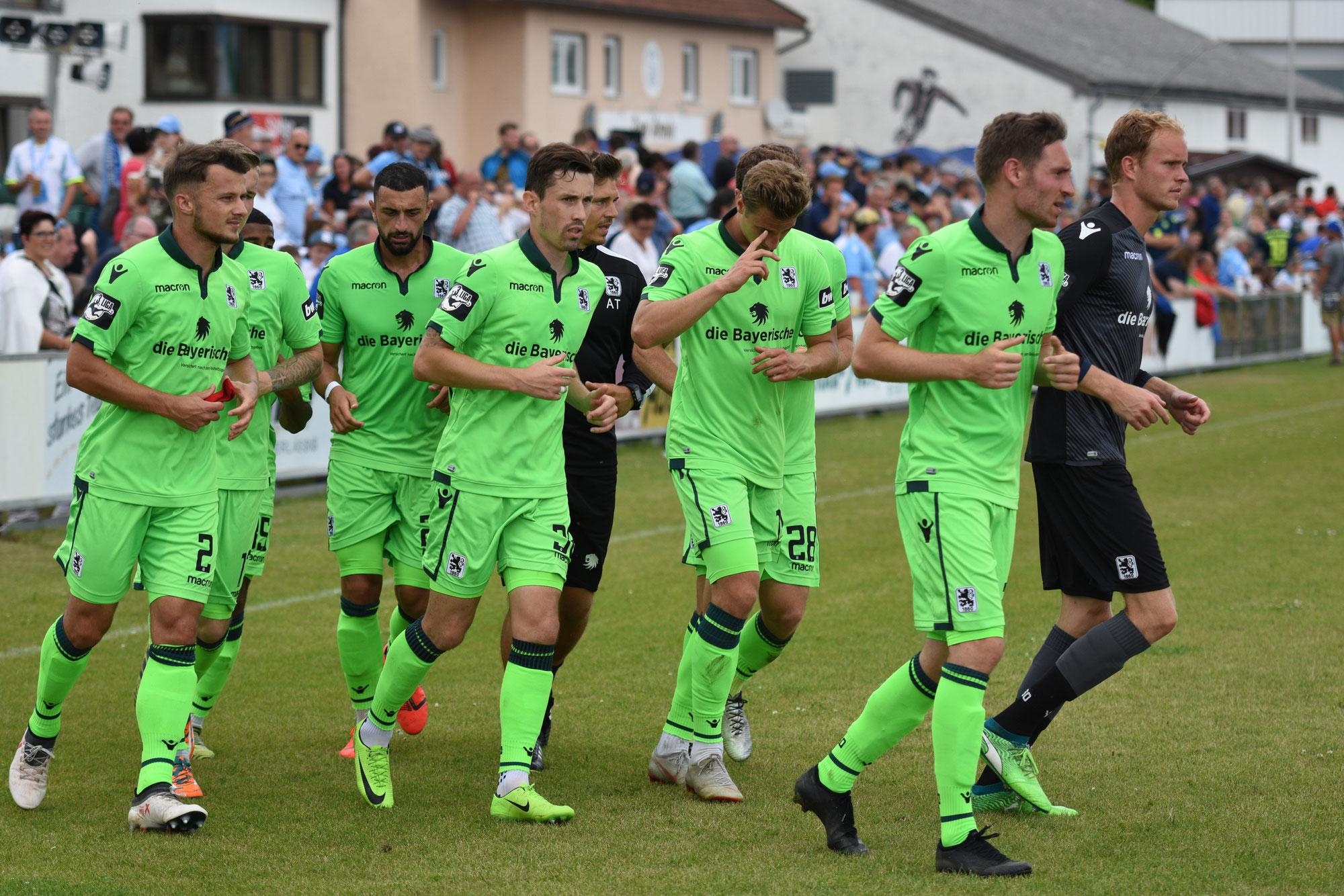 TSV 1860 München - die Löwen in Plattling