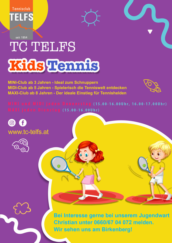 Kids Tennis - die neuen Schnupperkurse sind da!