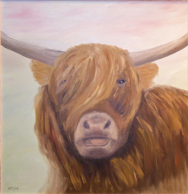 Ölmalerei ist optimal für Landschaftsmotive, Stillleben und Tiere