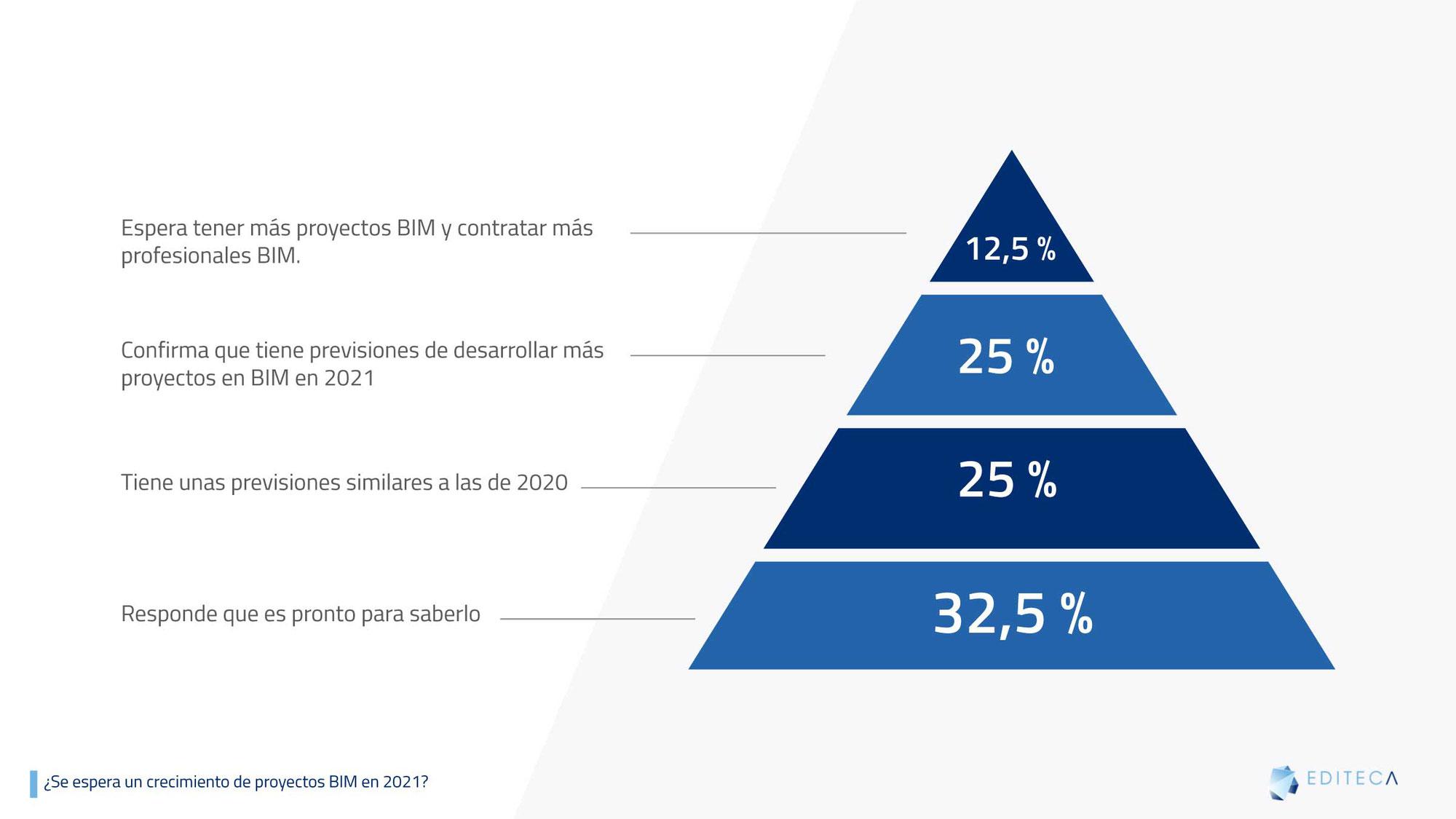 Grado de la implantación BIM en la empresa española
