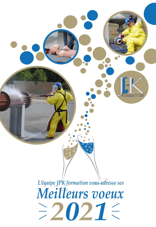 JPK Formation vous adresse ses Meilleurs voeux 2021