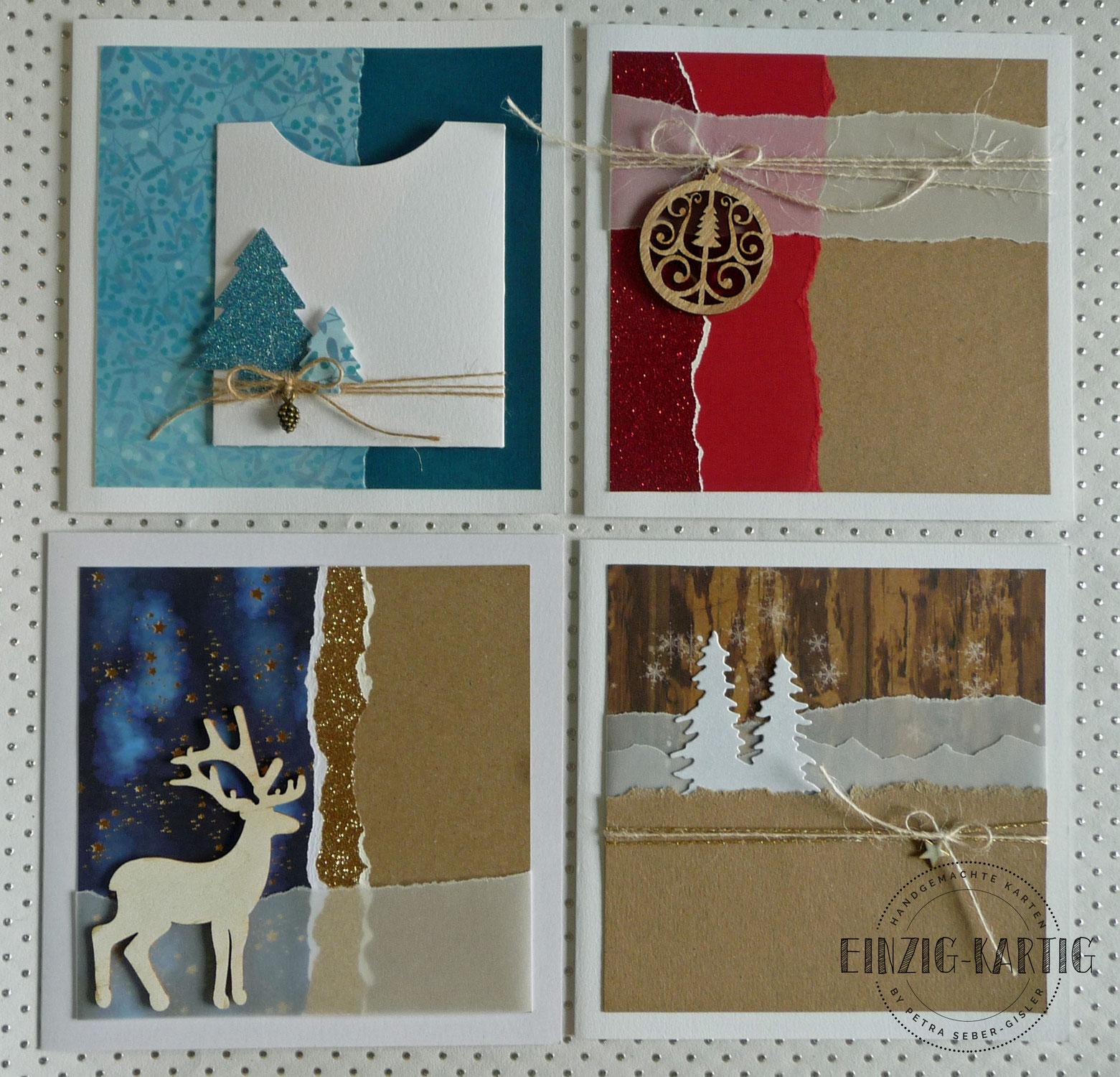 Weihnachtskarten-Workshop