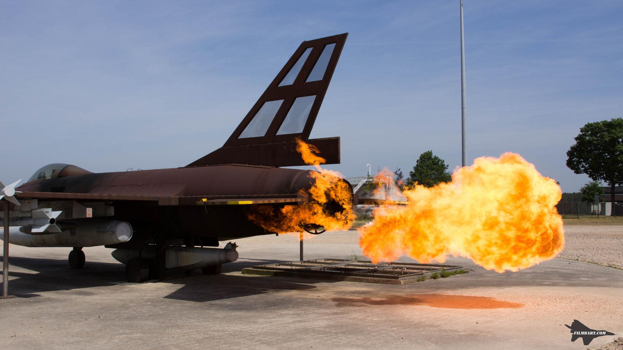Base visit Woensdrecht: fire!