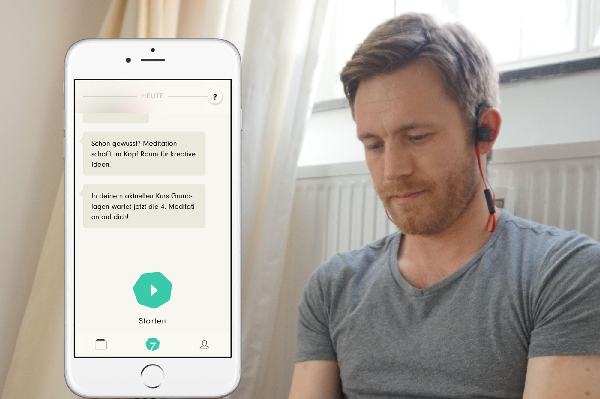 Meditations-App 7Mind im Test: Hot oder Schrott?