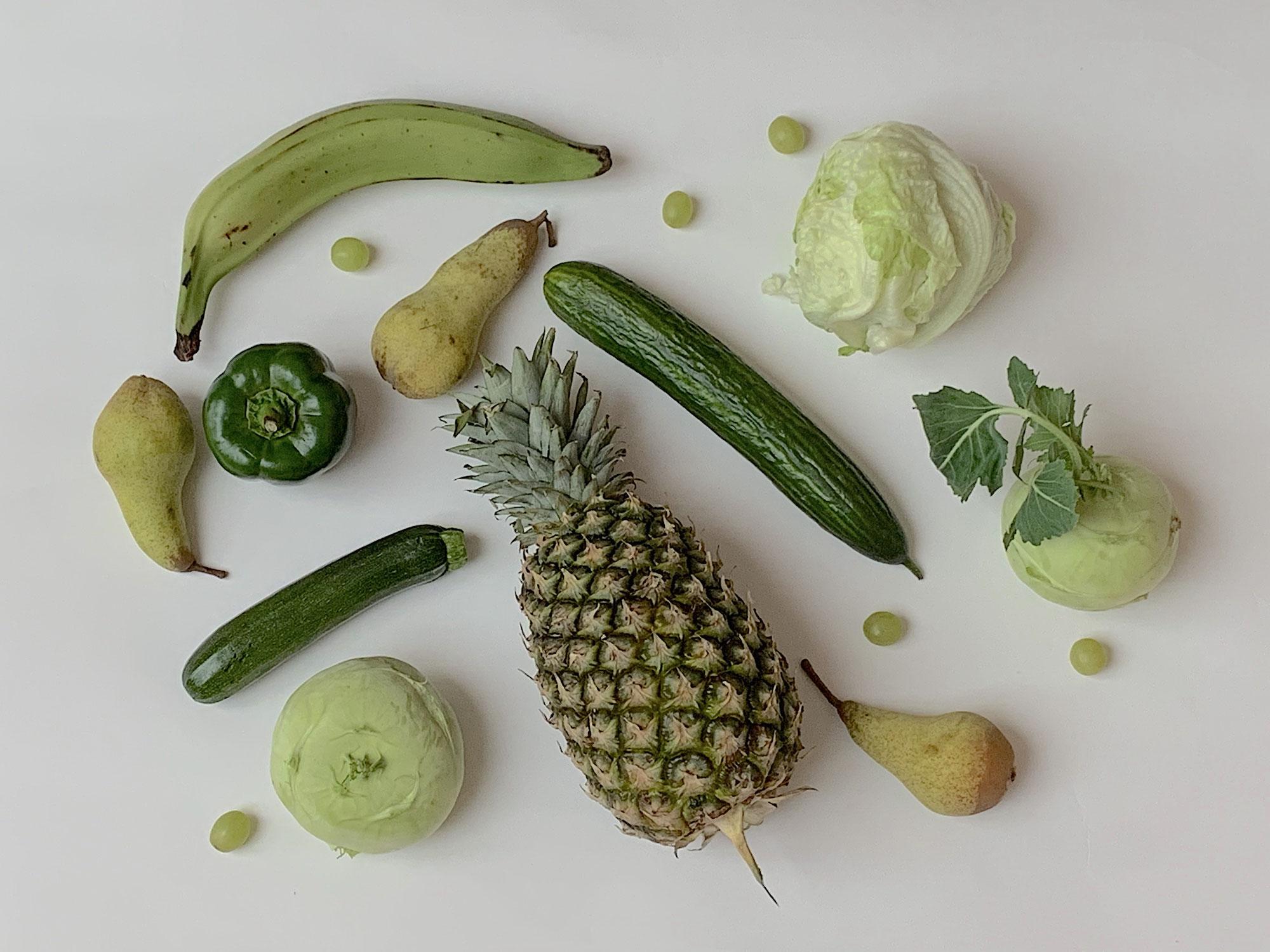 Wimmelbild - Grün so grün