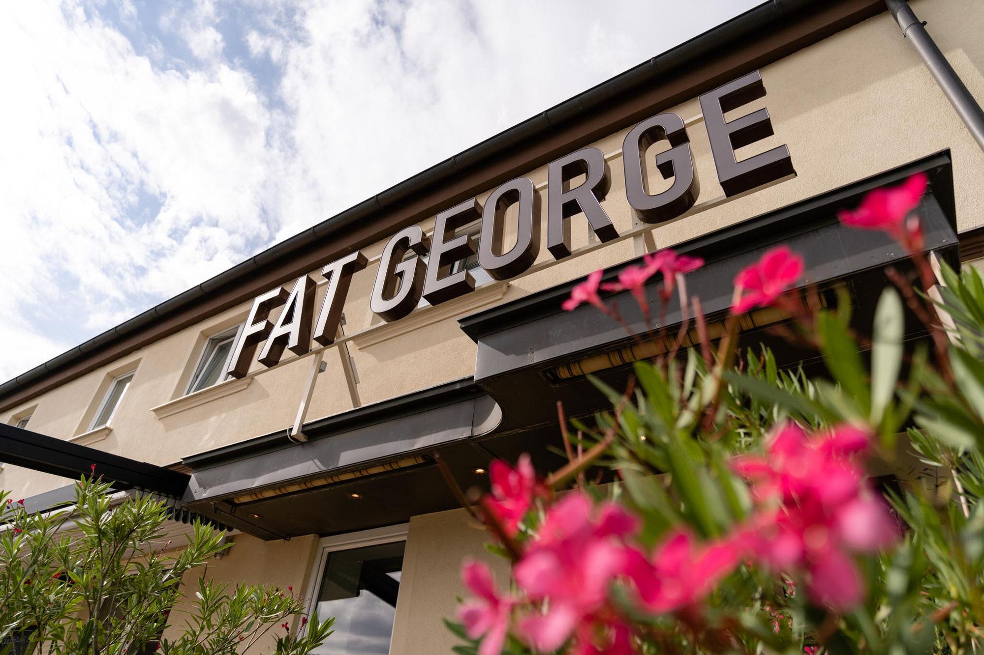 """Imageaufnahmen für das Restaurant """"Fat George"""" in Essling"""