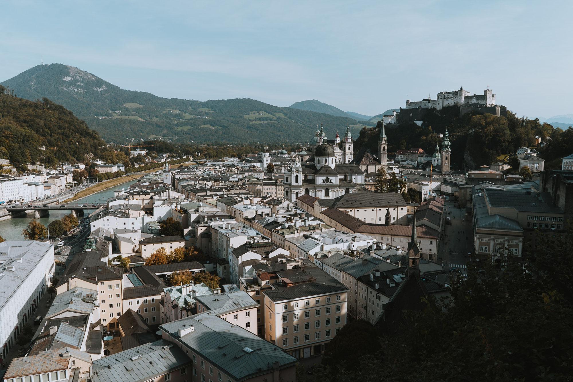 Herbsturlaub in Österreich - Stadt Salzburg & Mattsee