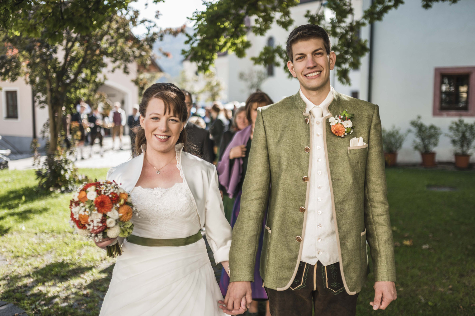 Die Hochzeit von Lisi und Roland