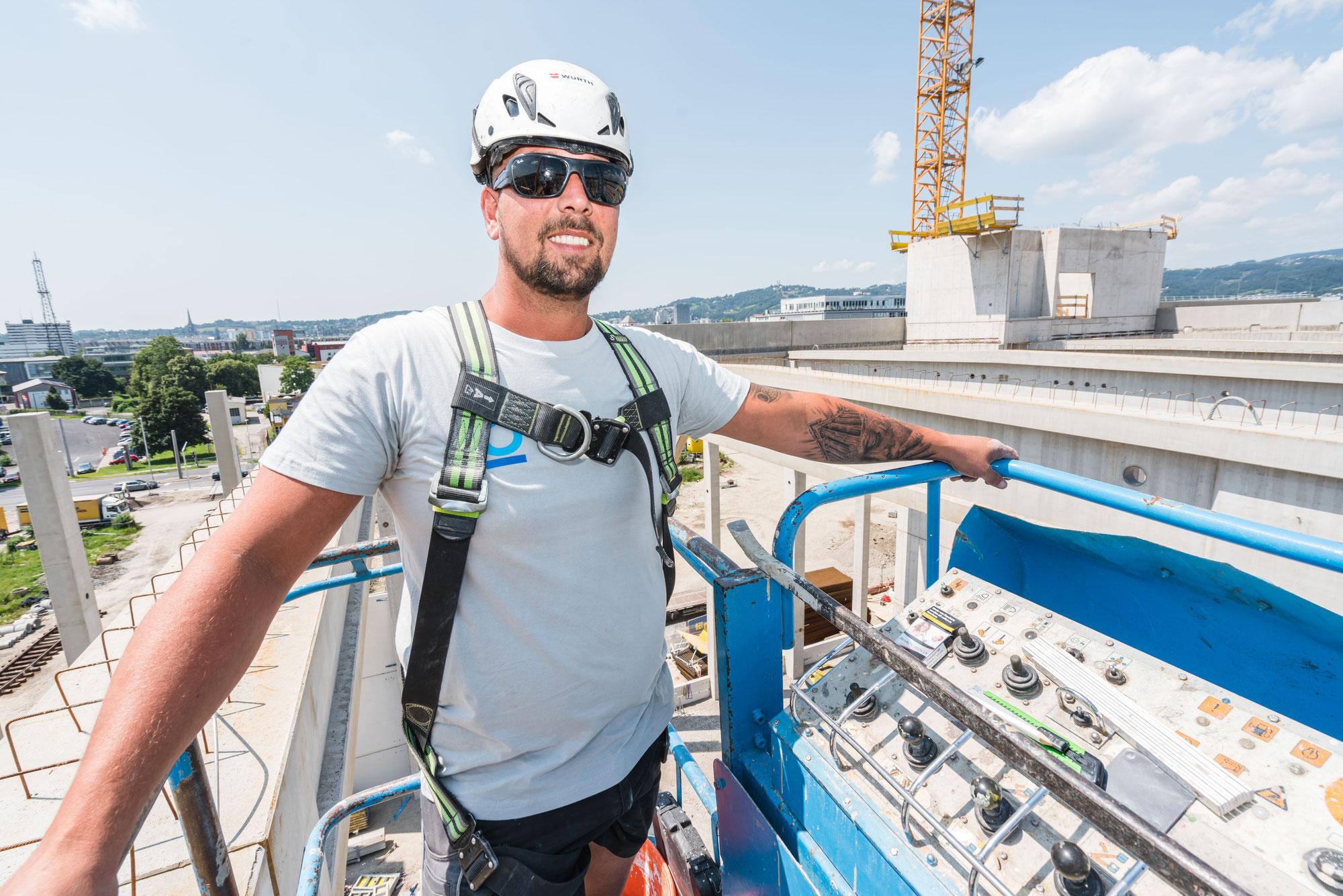 Baustellenreportage TK Halle Linz