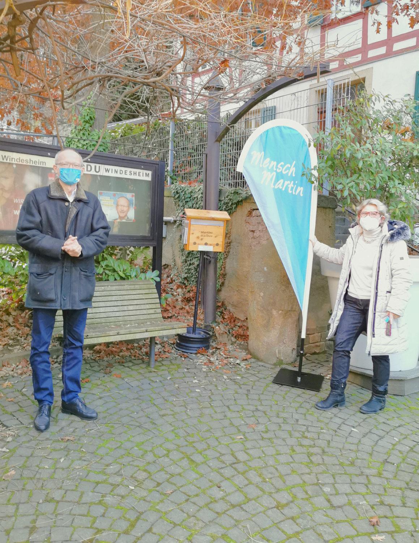 Martins Mailbox in Windesheim