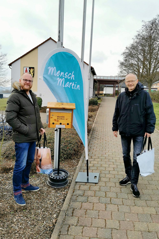 Martins Mailbox in Warmsroth