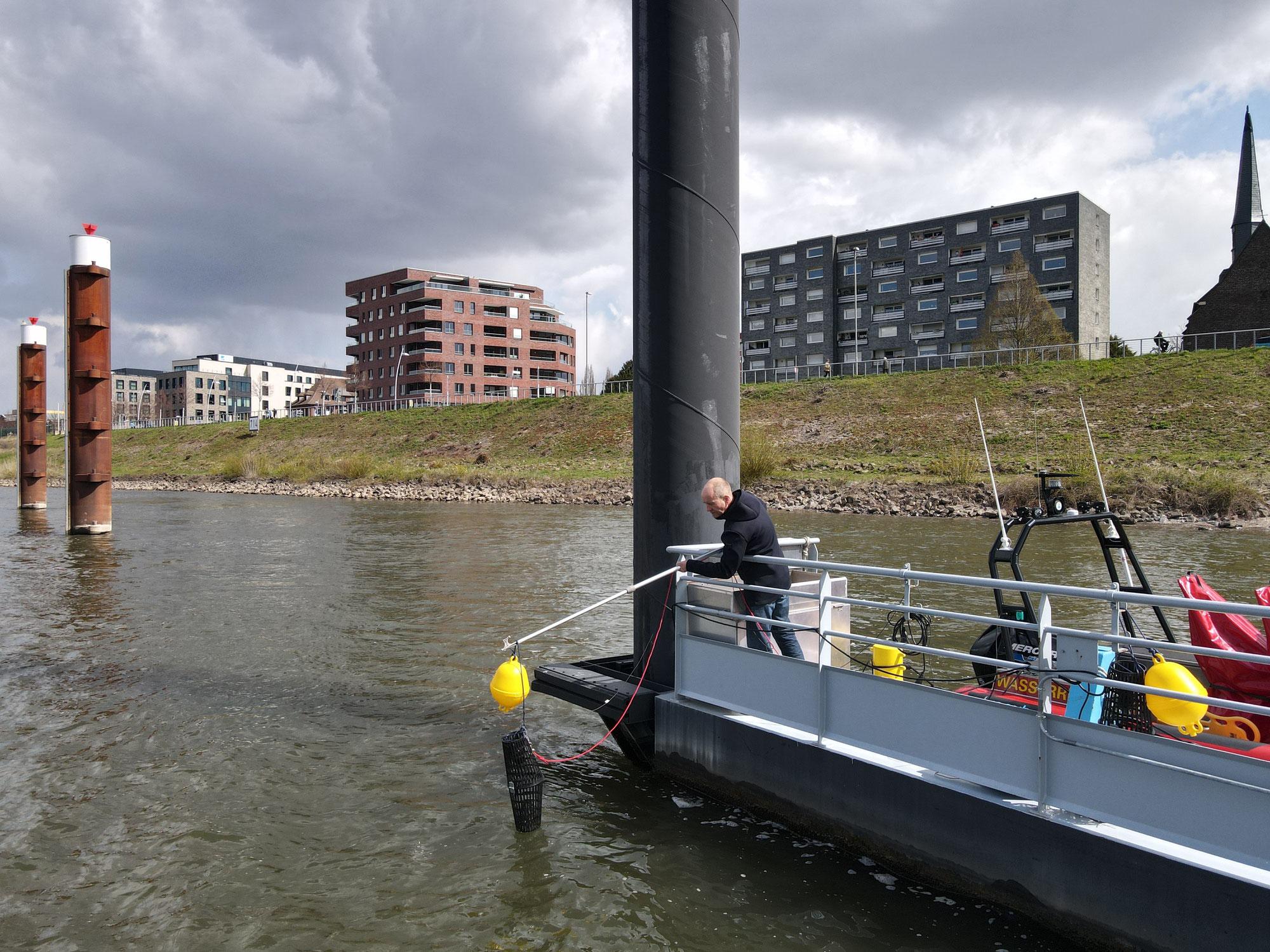 continuum - Klanginstallation in Monheim am Rhein