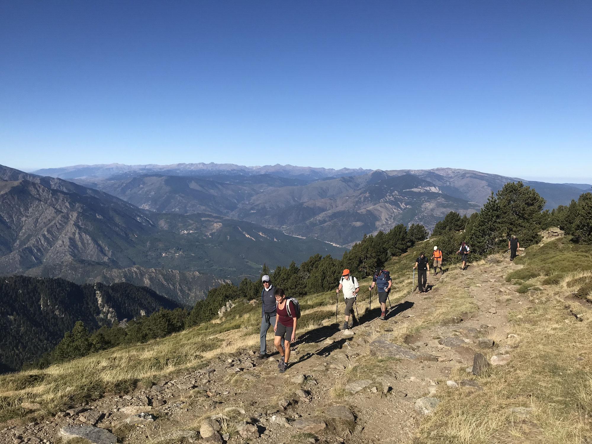 Les Pyrénées en automne