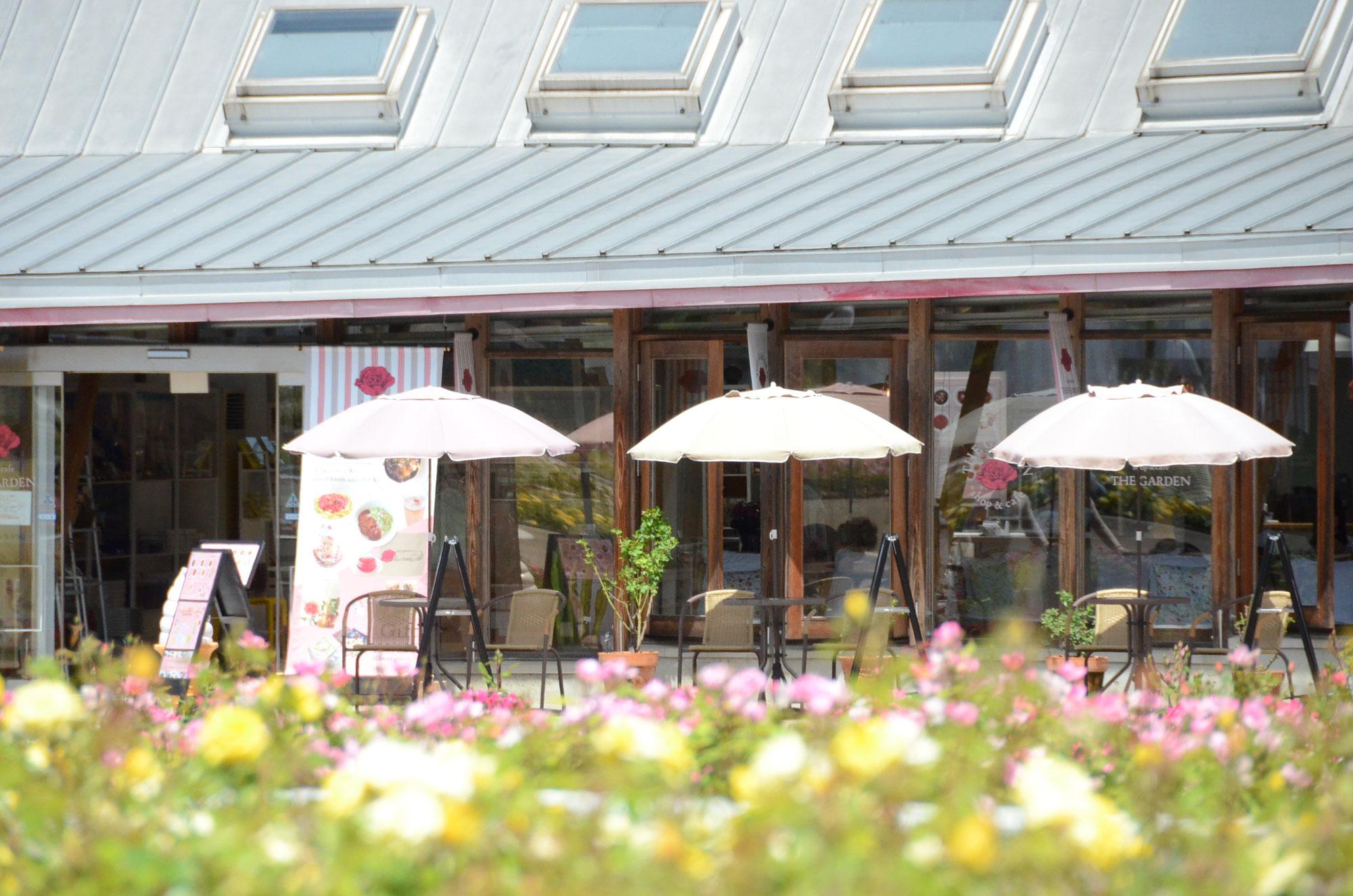 春のshop & café THE GARDENへお越しください。