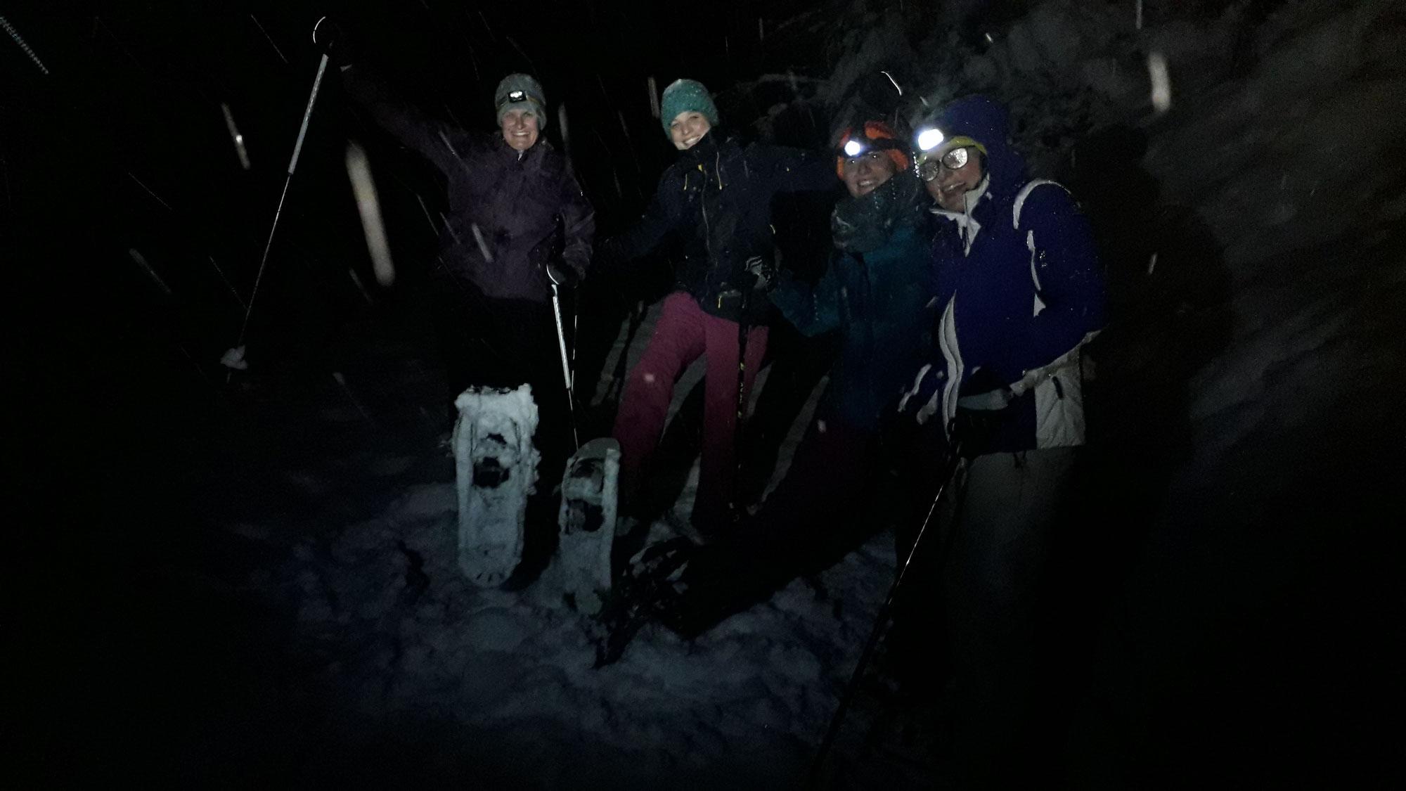 Turnerinnen im Schnee