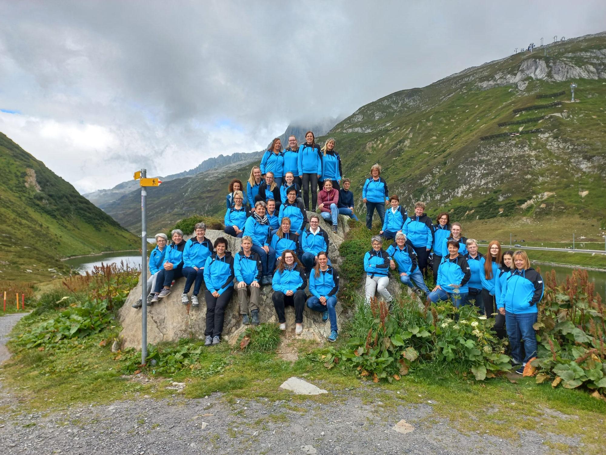 2-tägige Turnerinnen-Reise ins schöne Bündnerland