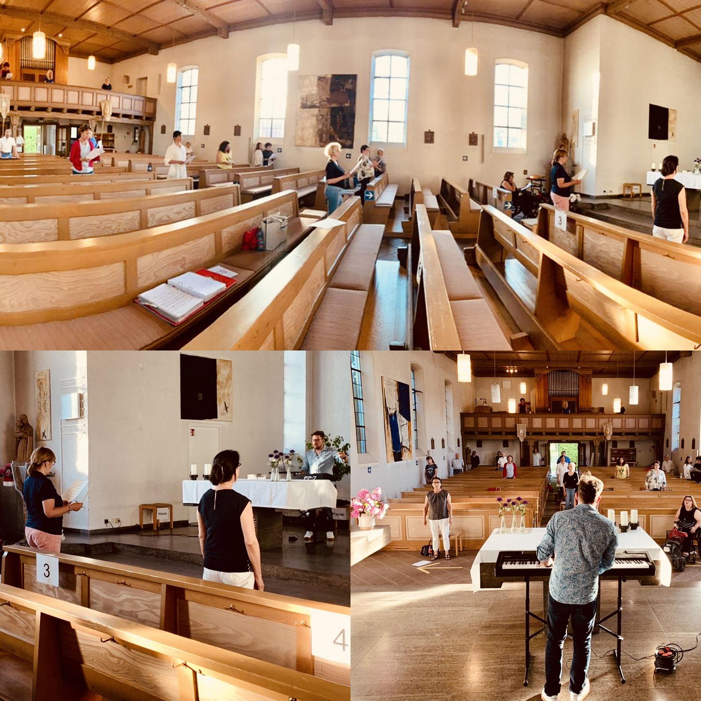 Chorproben-Revival in Präsenz