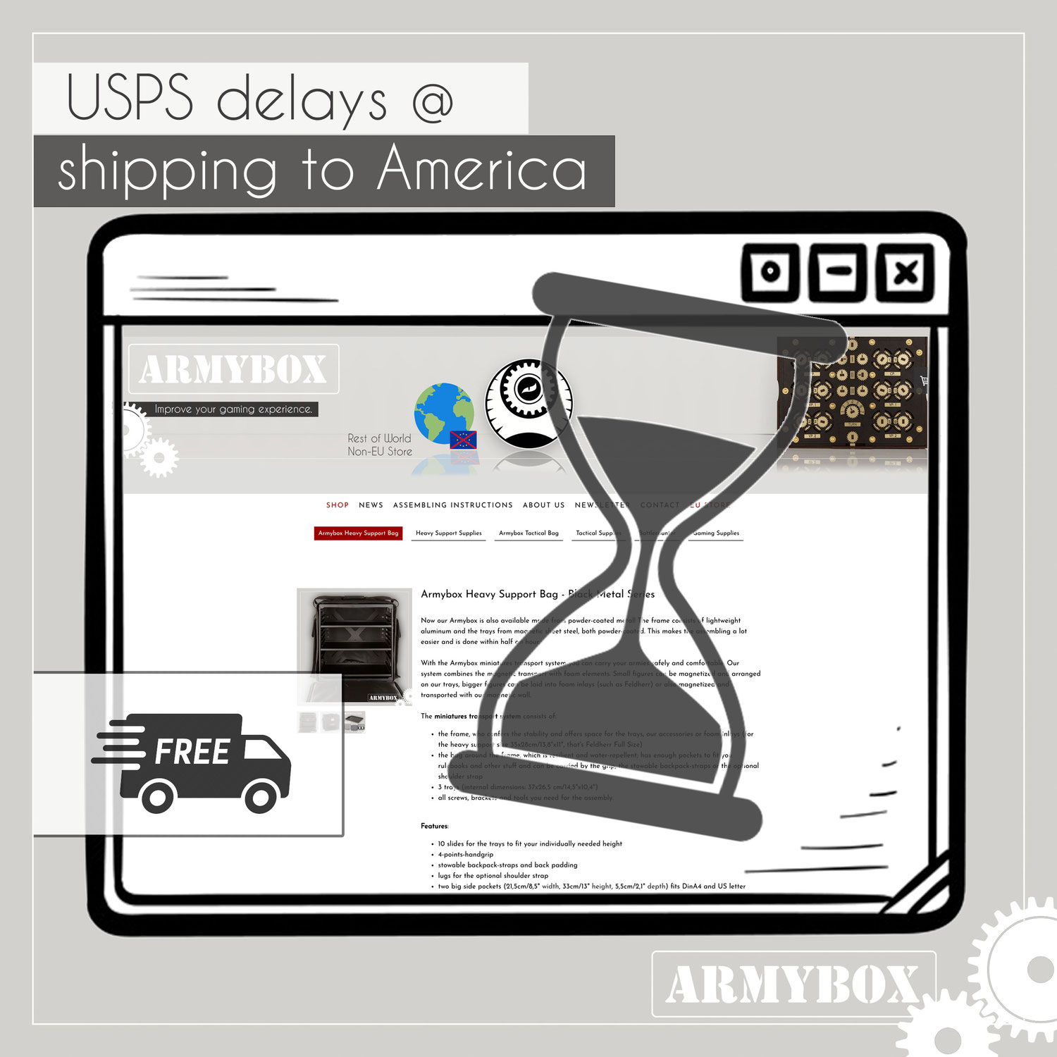 USPS shipping delays