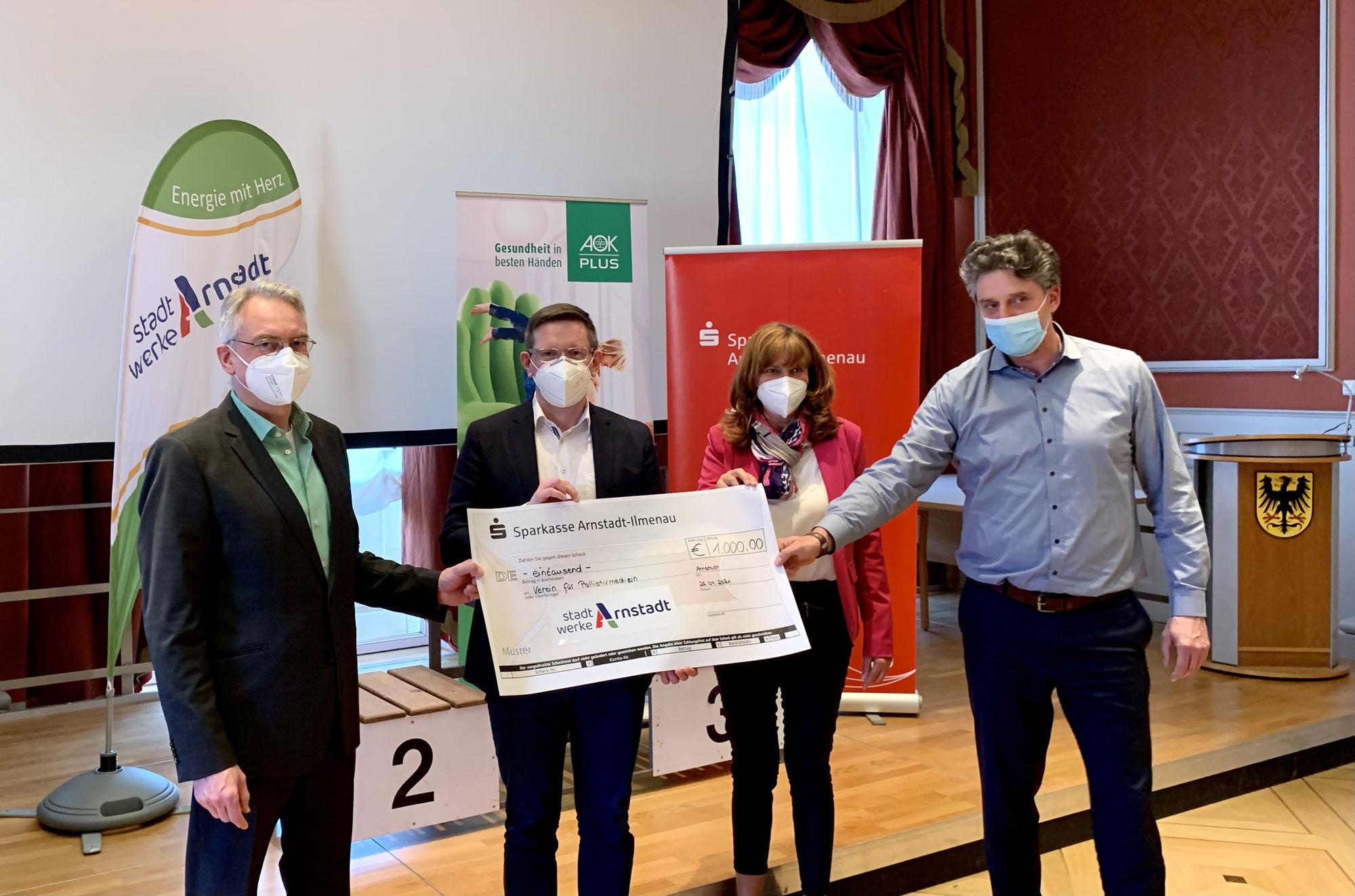 Virtual Run: 1000 Euro für den Palliativverein erlaufen