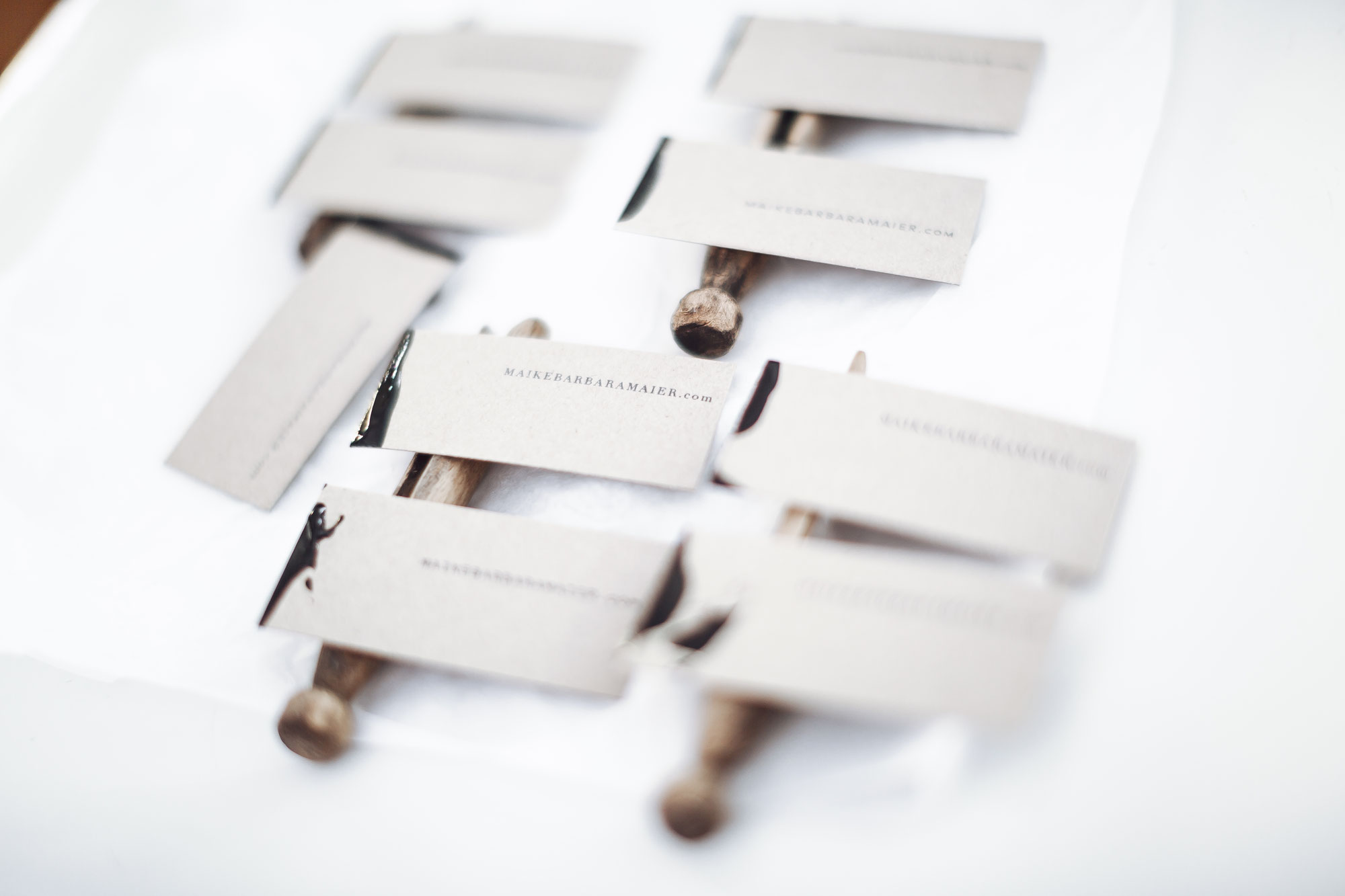 | Dipped Businesscards