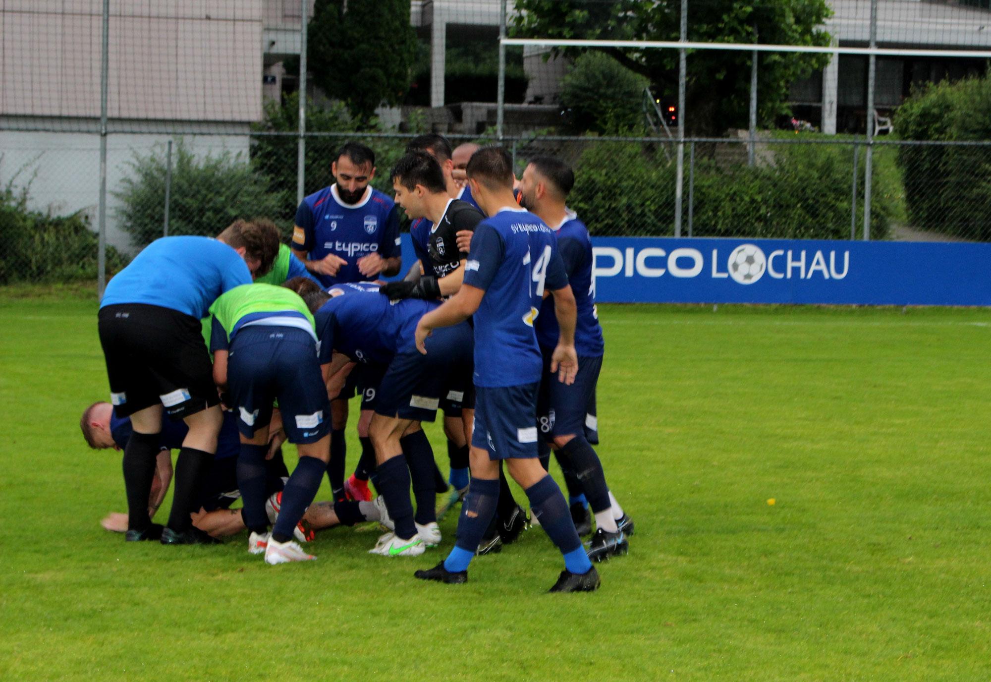 4:2 Auftaktsieg gegen den SC Fussach