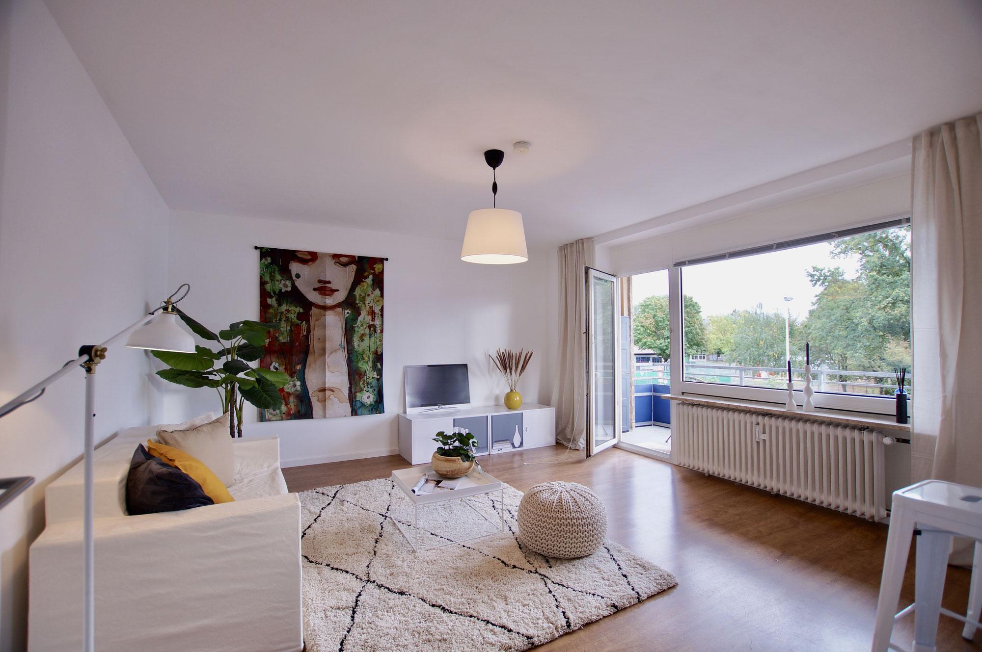Tolle Wohnung mit zwei Balkonen