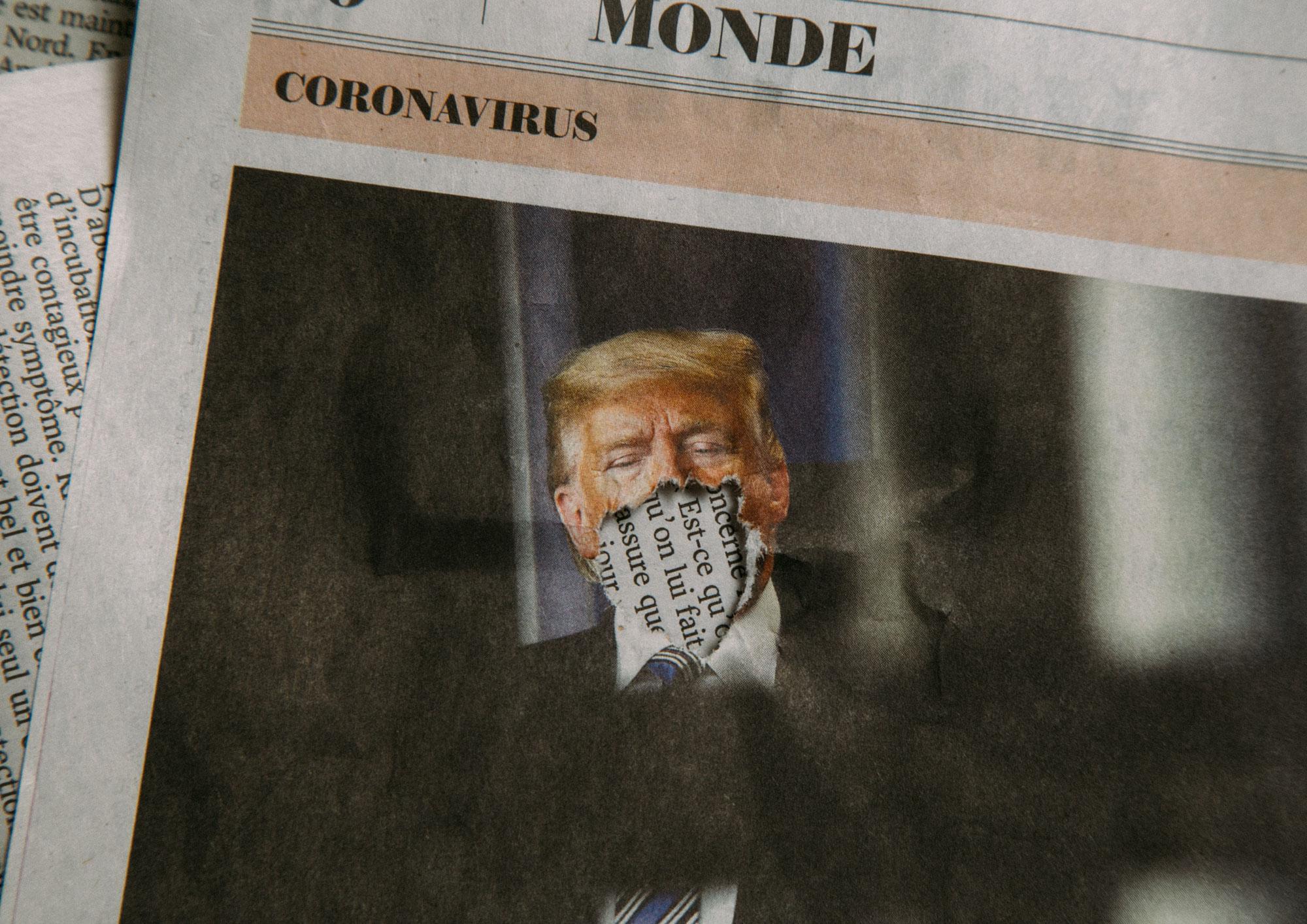 Trumps Pressearbeit