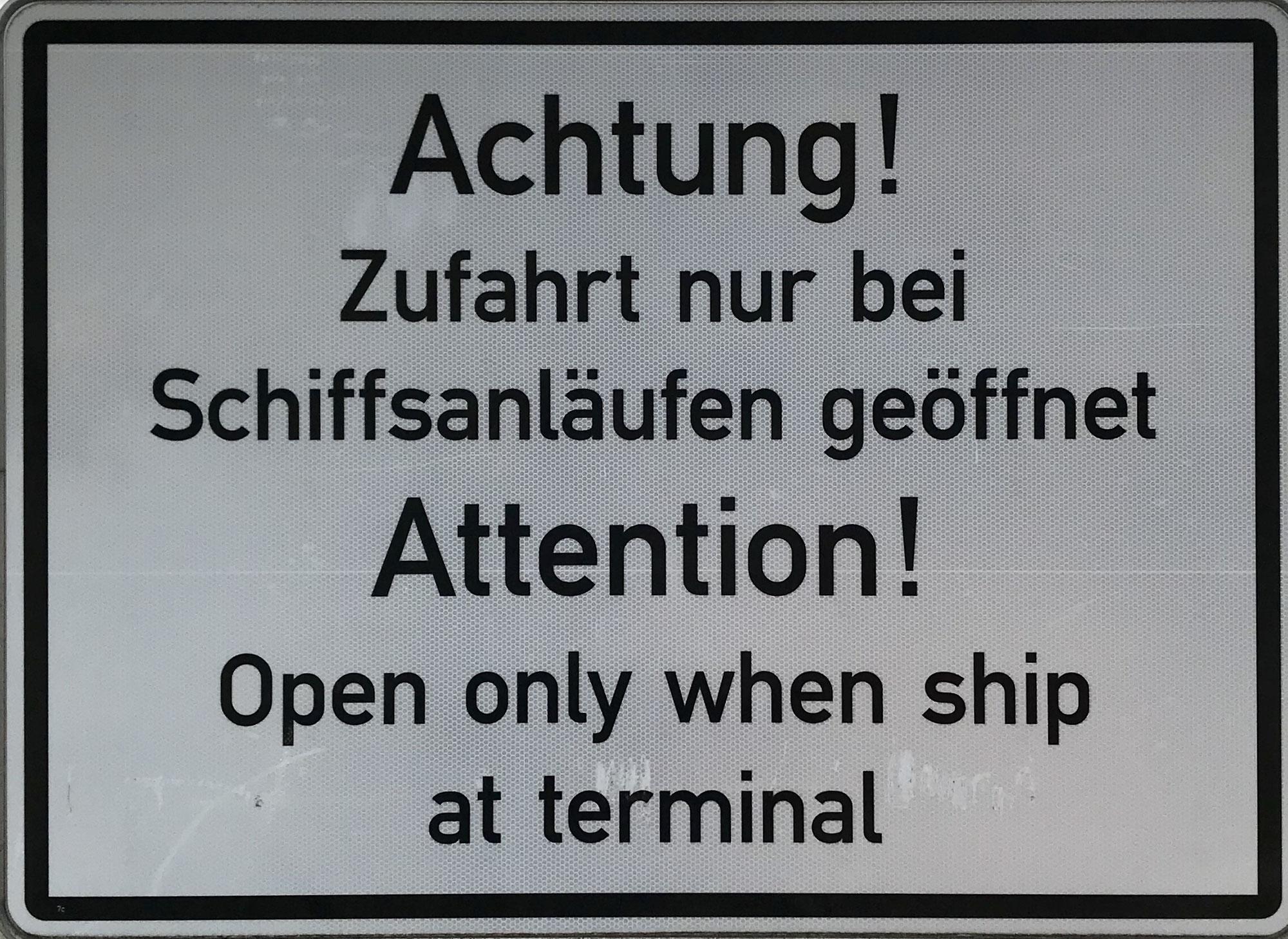 So lange Schiffsnacht !