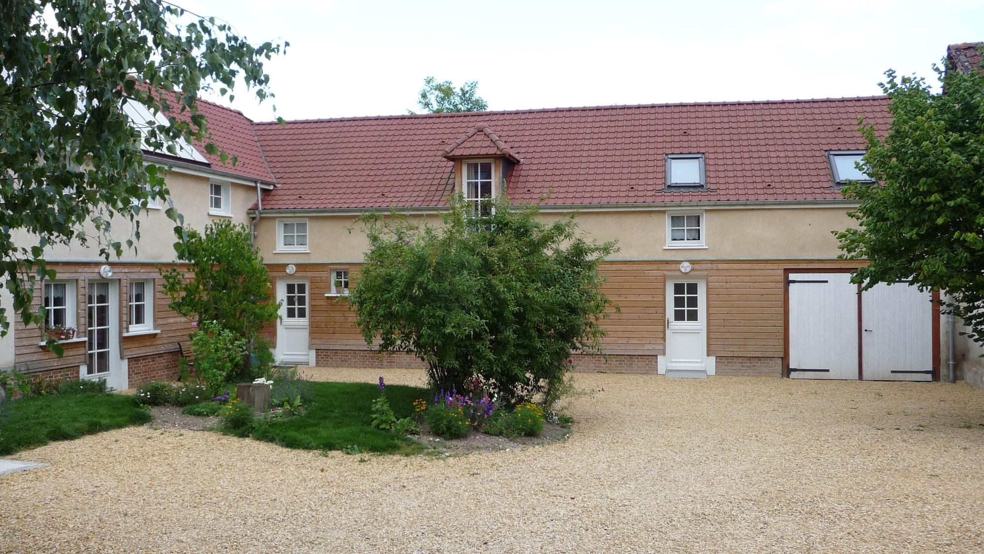 Location de chambres d 39 h tes les noisetiers a guyencourt - Chambres d hotes bourgogne sud ...