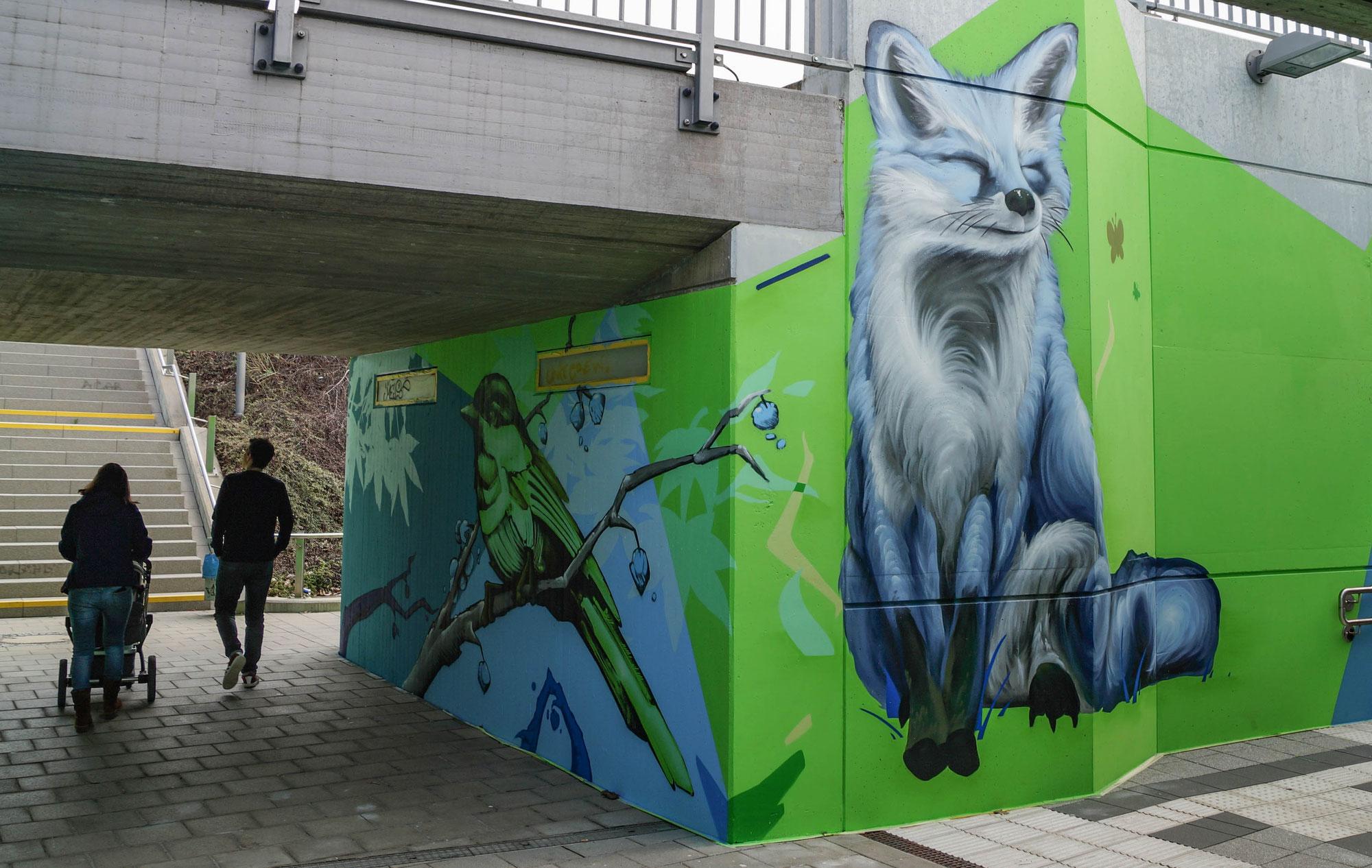 Graffiti als Werbebanner der Zukunft?