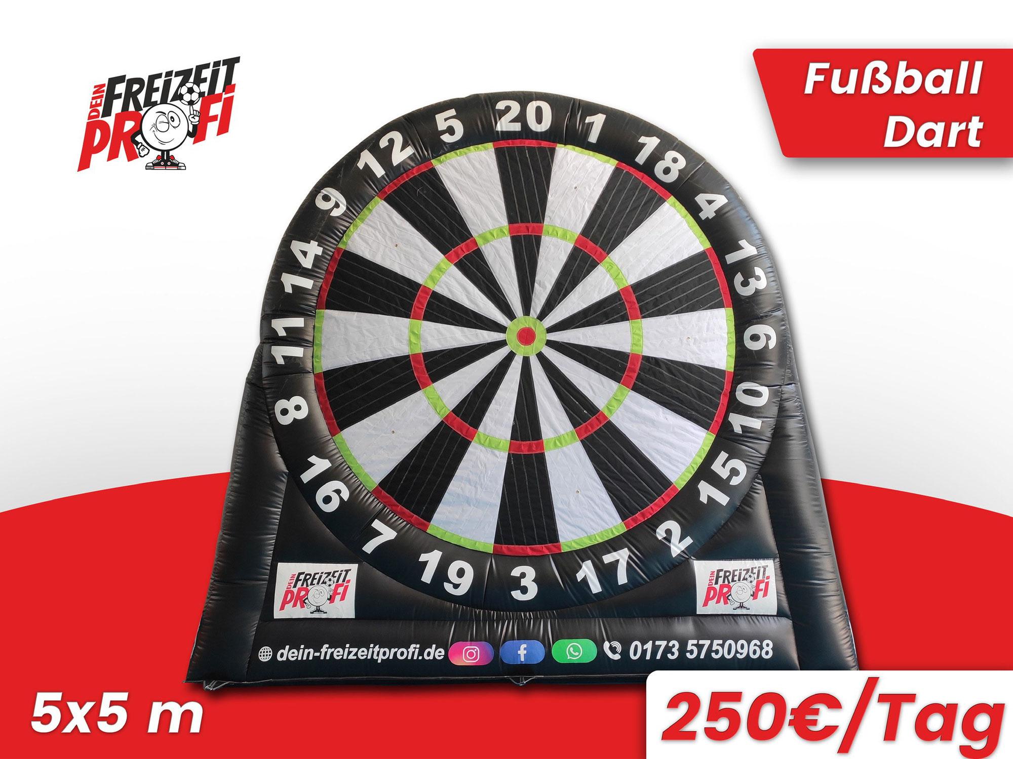 Wo kann man Fussball Dart in Kassel mieten ?