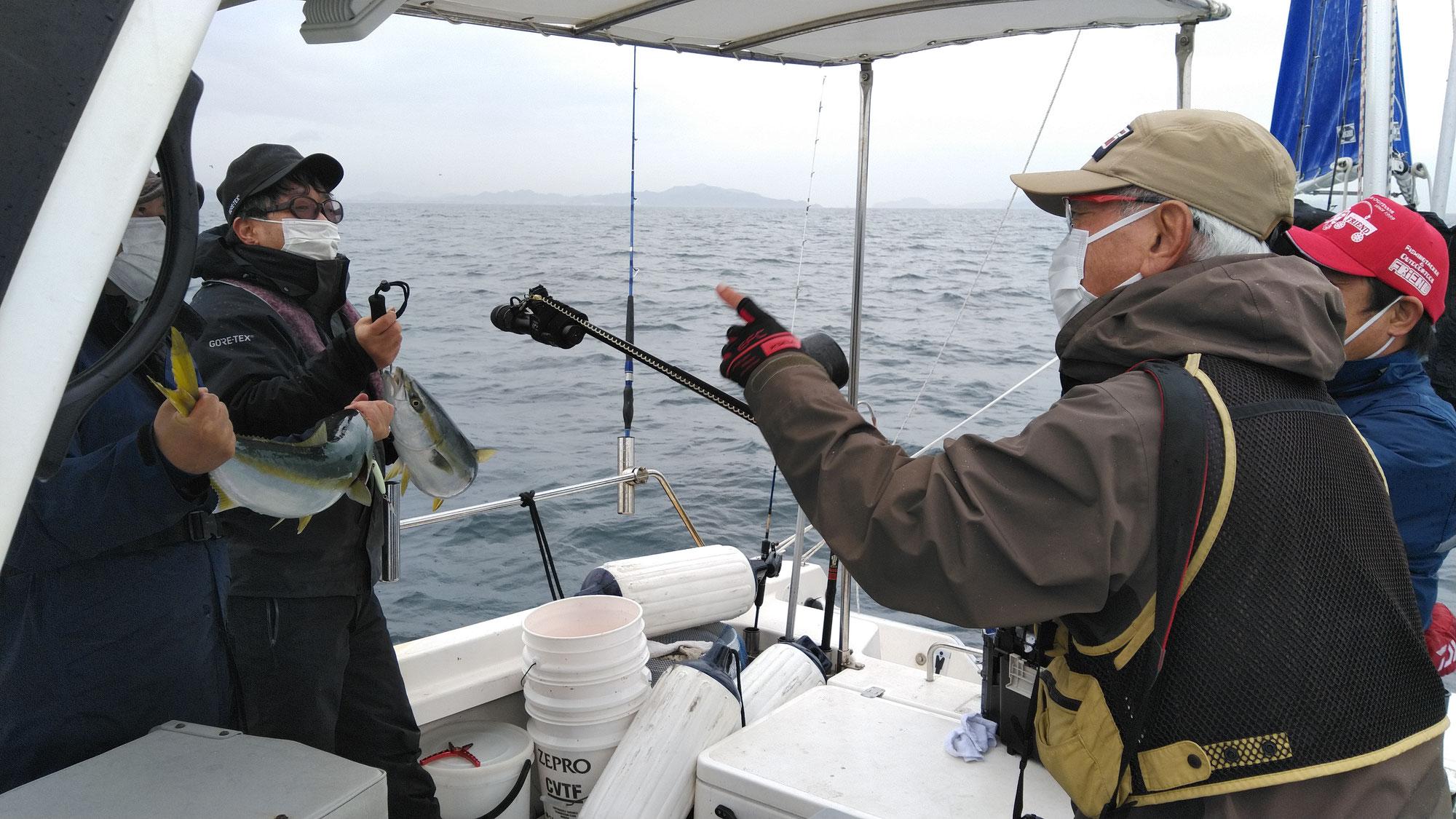 3月20日 チョーさんの釣り情報の取材