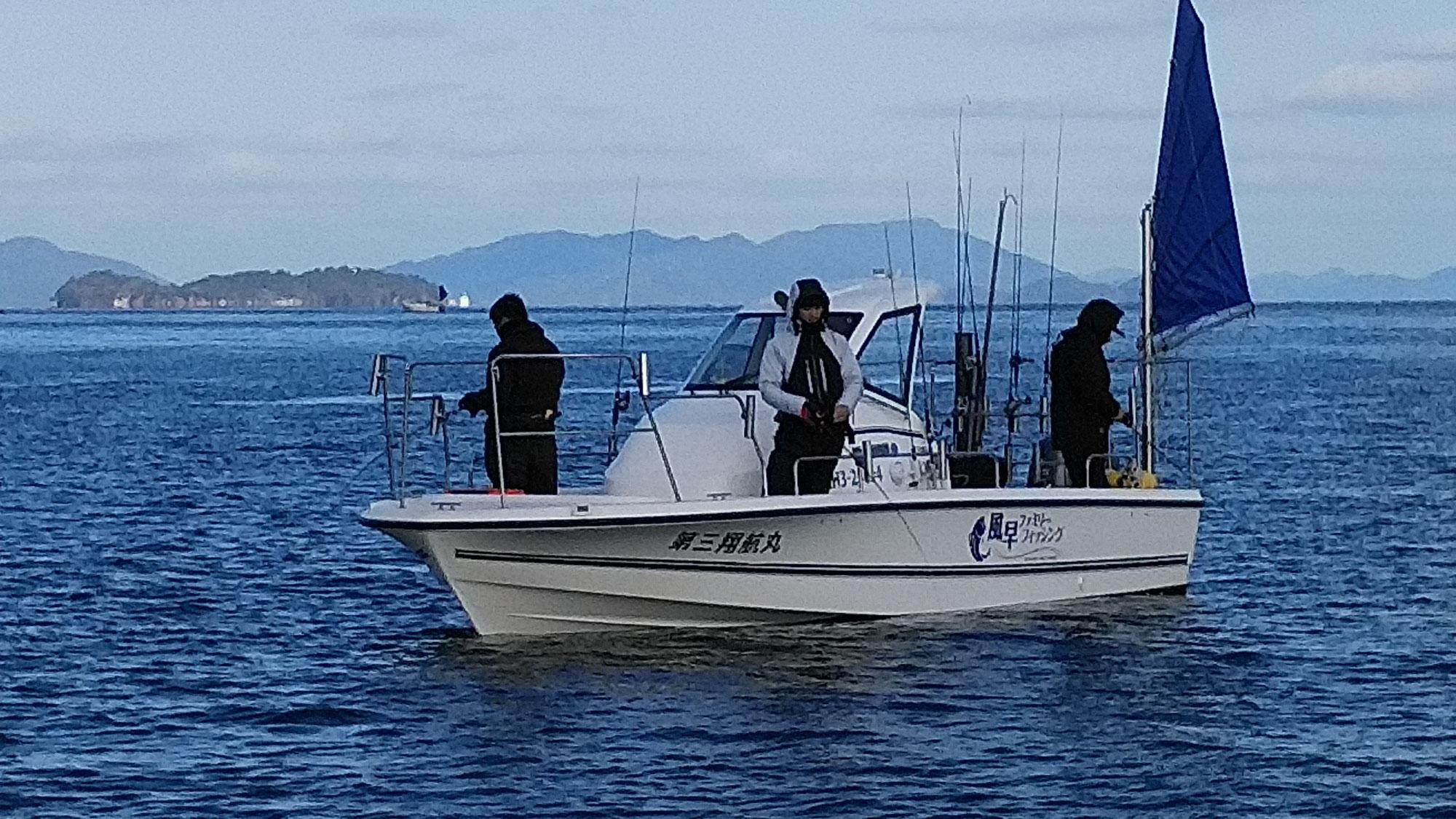 1月3日2号艇のジギング釣果