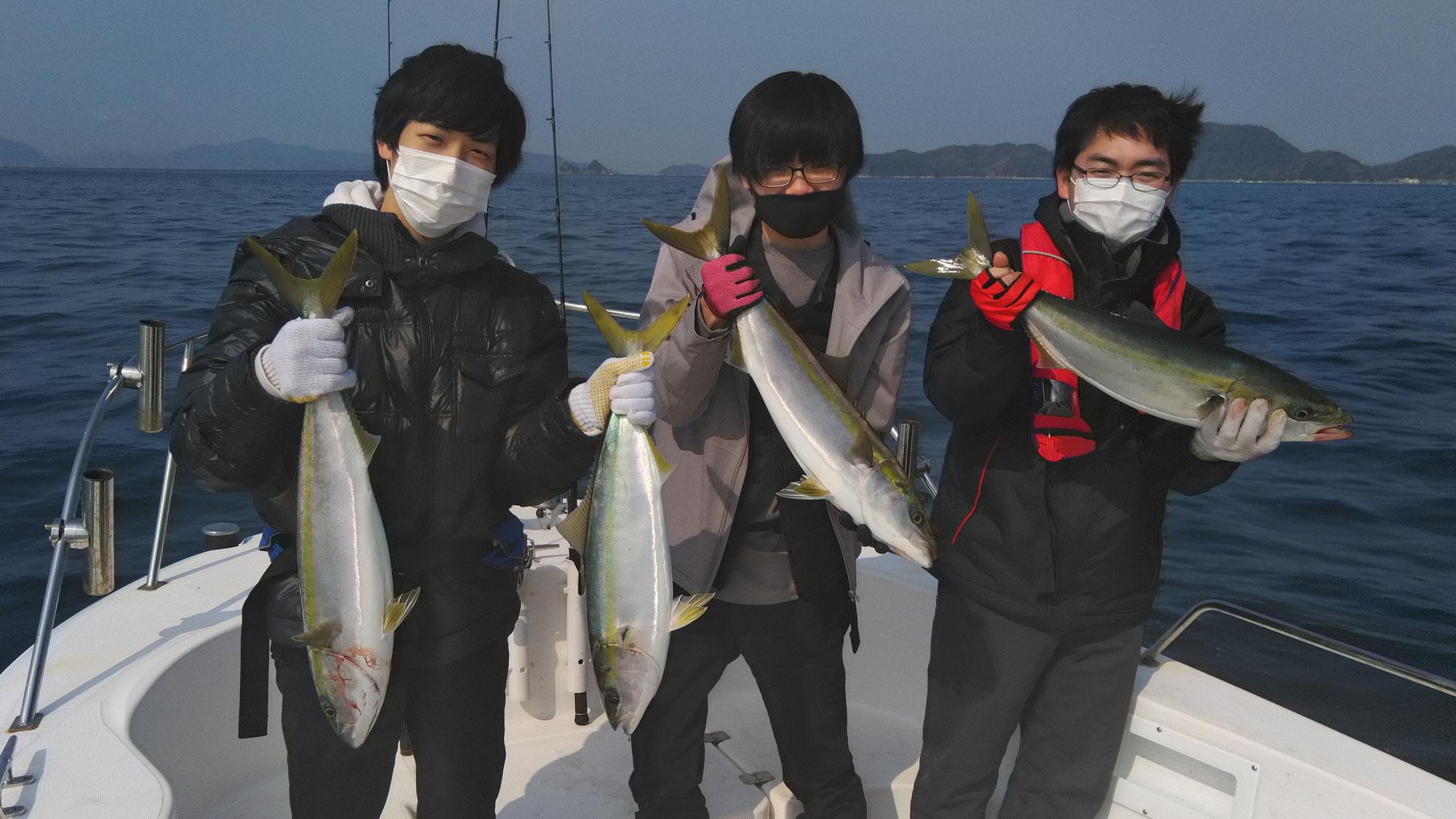 3月14日 1号艇釣果