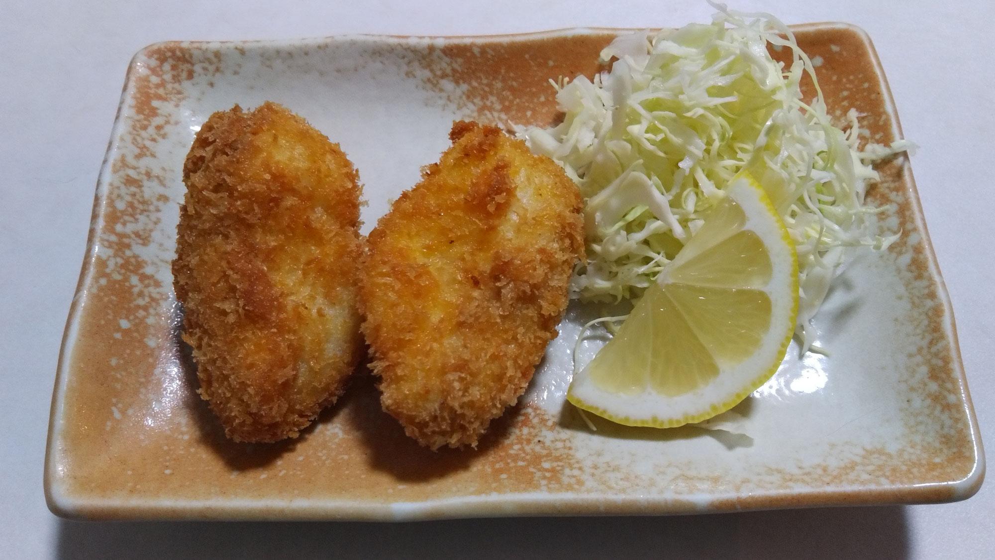 2月6日 白身魚のフライ