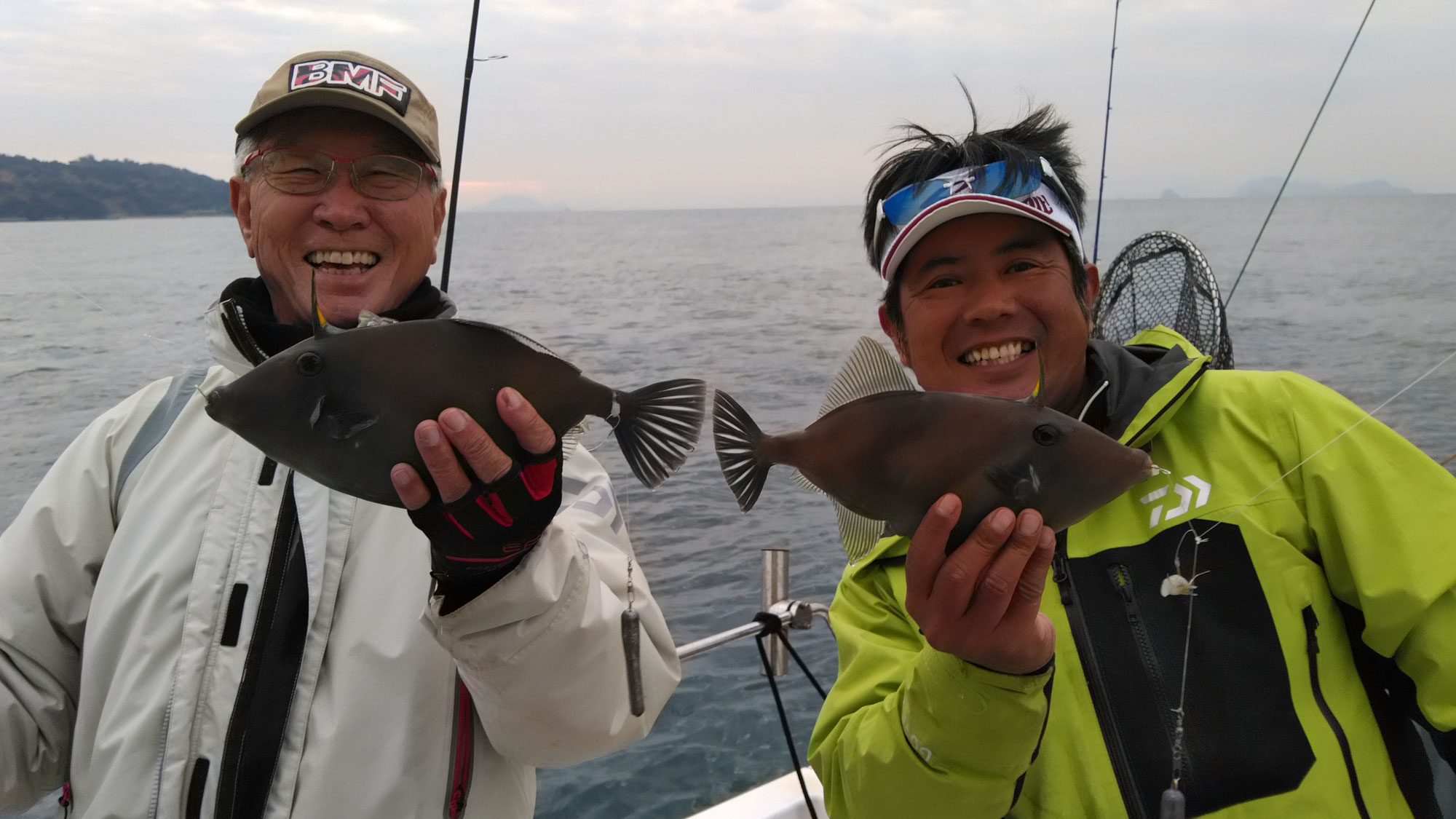 1月21日ウマヅラハギ釣り
