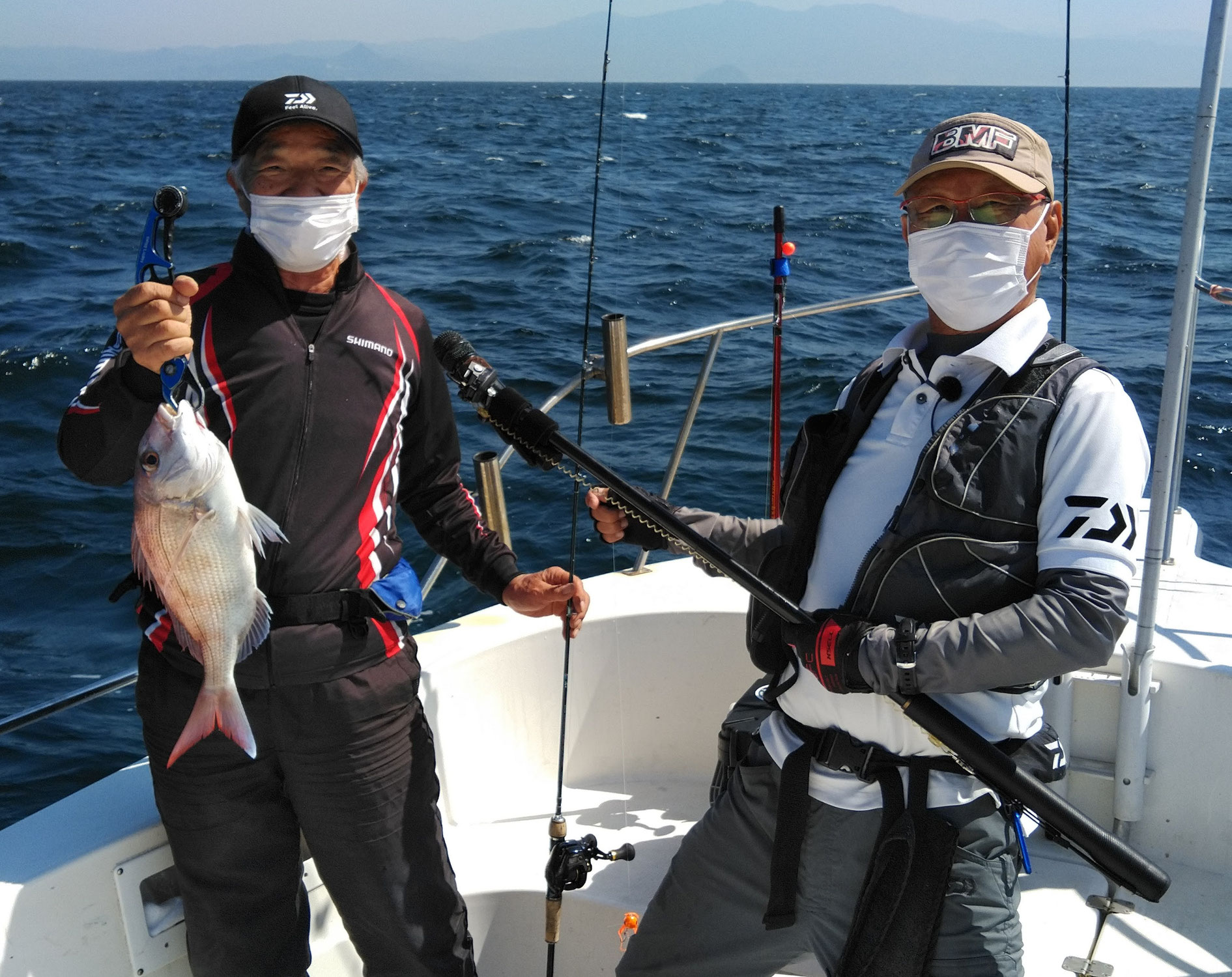 10月3日 チョーさんの釣り情報の取材
