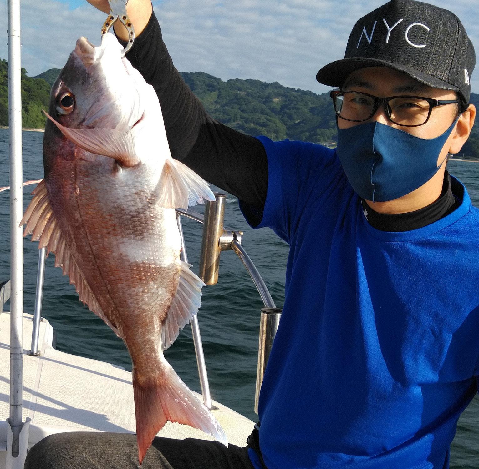 9月21日 鯛ラバ&エギング釣果