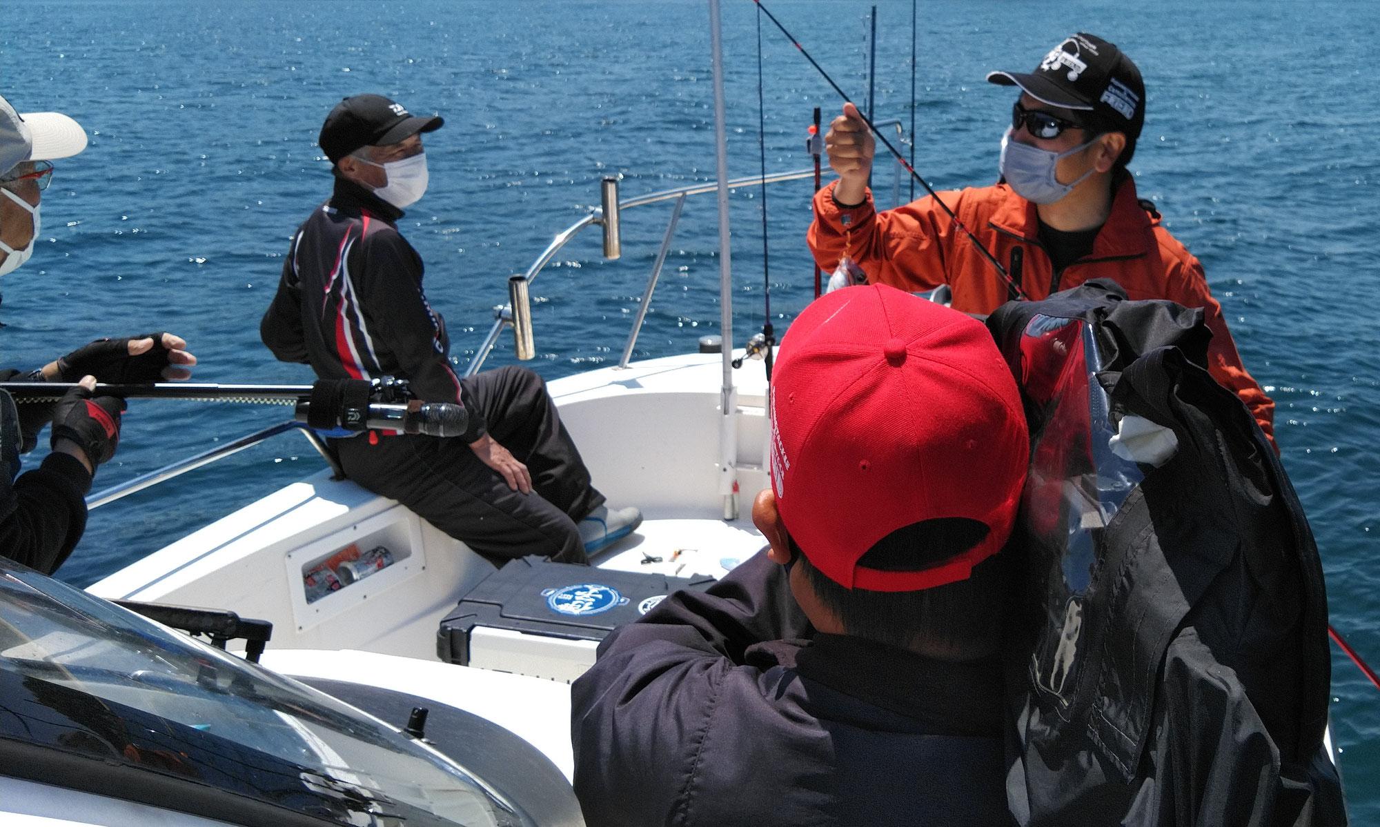 5月23日 チョーさんの釣り情報の取材