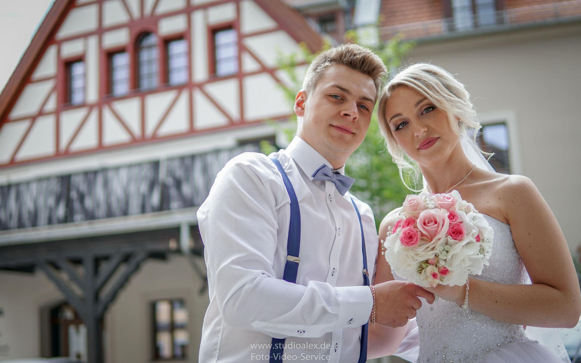 Hochzeitsfotografie in Amberg & Sulzbach-Rosenberg mit Christina & Dima