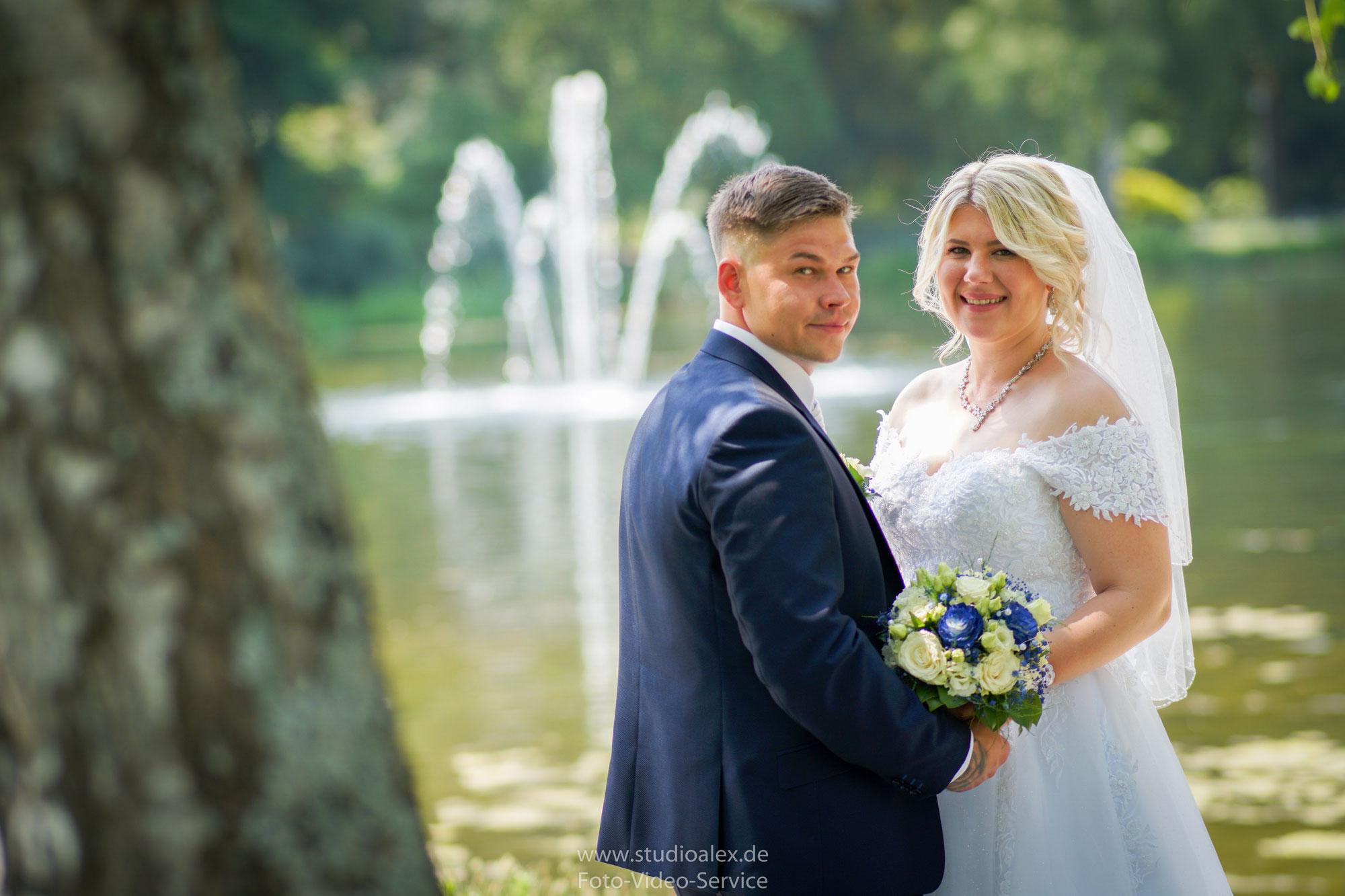 Hochzeit in Nürnberg von Sandra und Daniel. Mit Hochzeitsfotograf und Videograf Alexander Dechant -Studio Alex