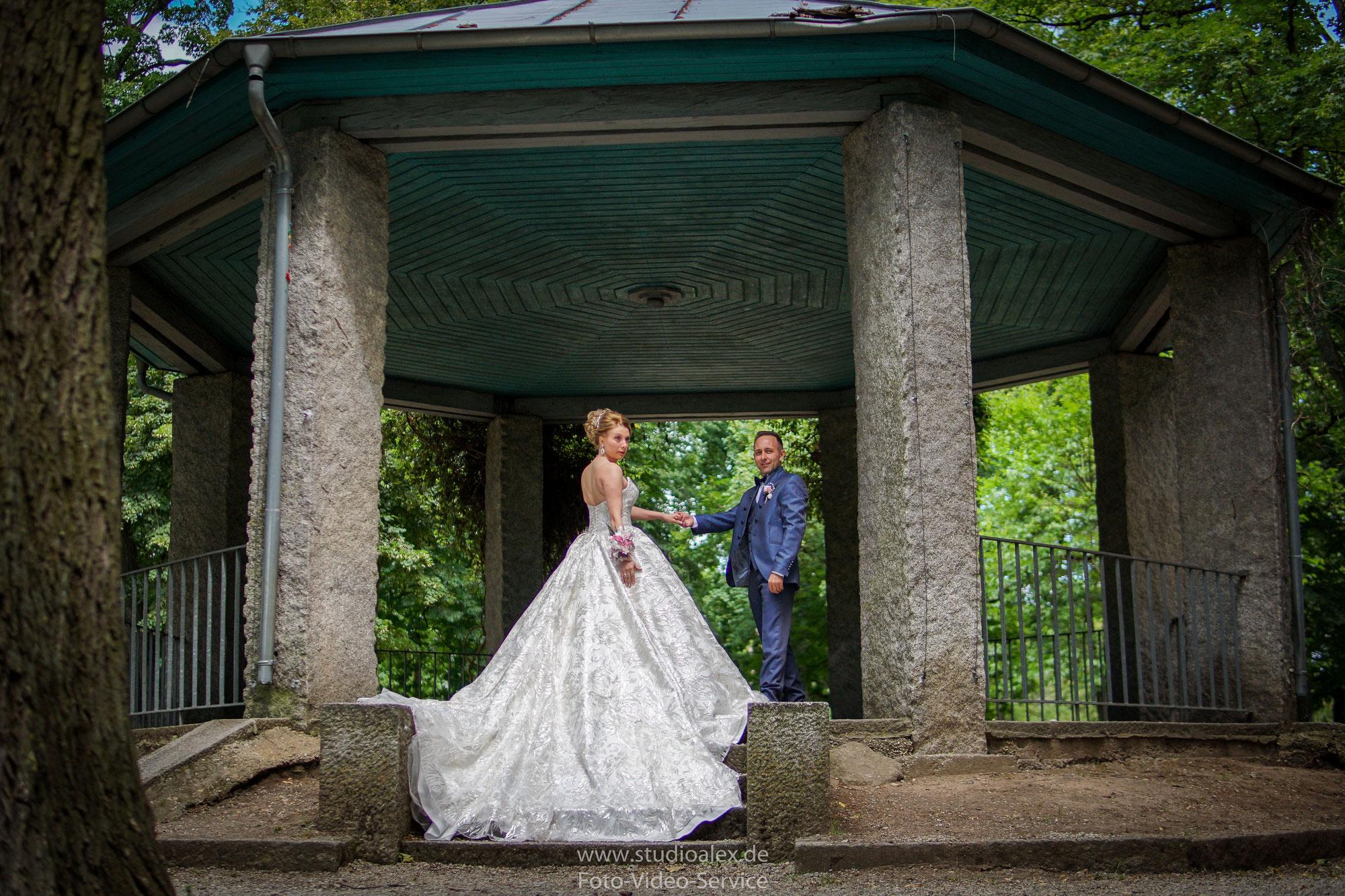 Hochzeitsfotografie Amberg  und Hochzeit in Drahthammerschlössl